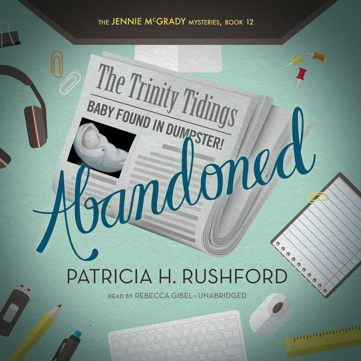 Printable Abandoned Audiobook Cover Art