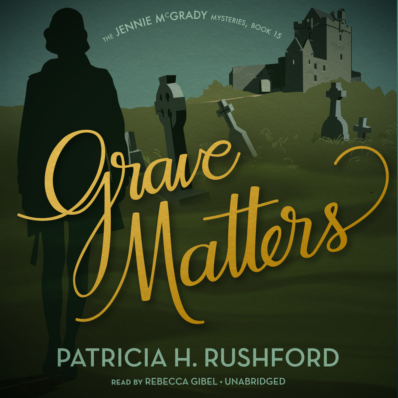 Printable Grave Matters Audiobook Cover Art