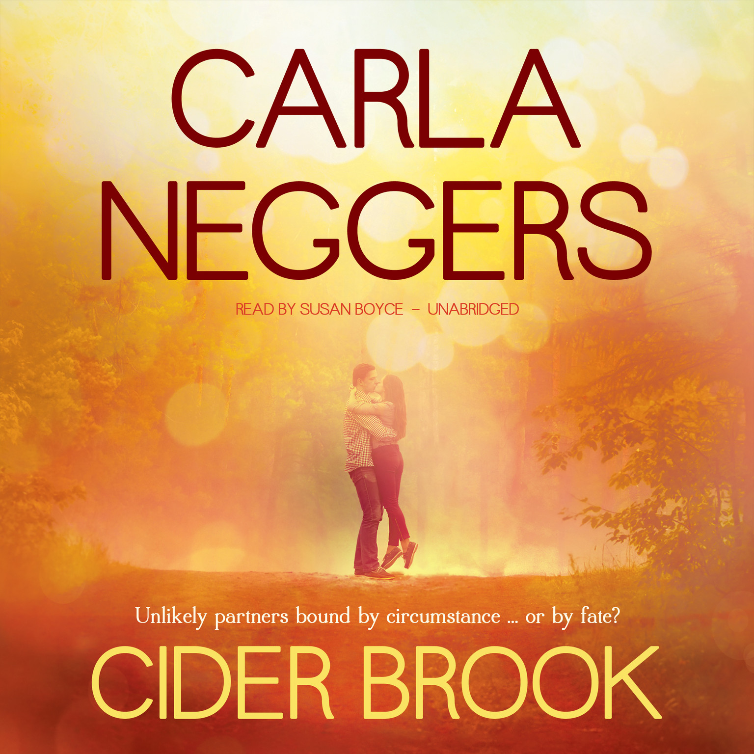 Printable Cider Brook Audiobook Cover Art