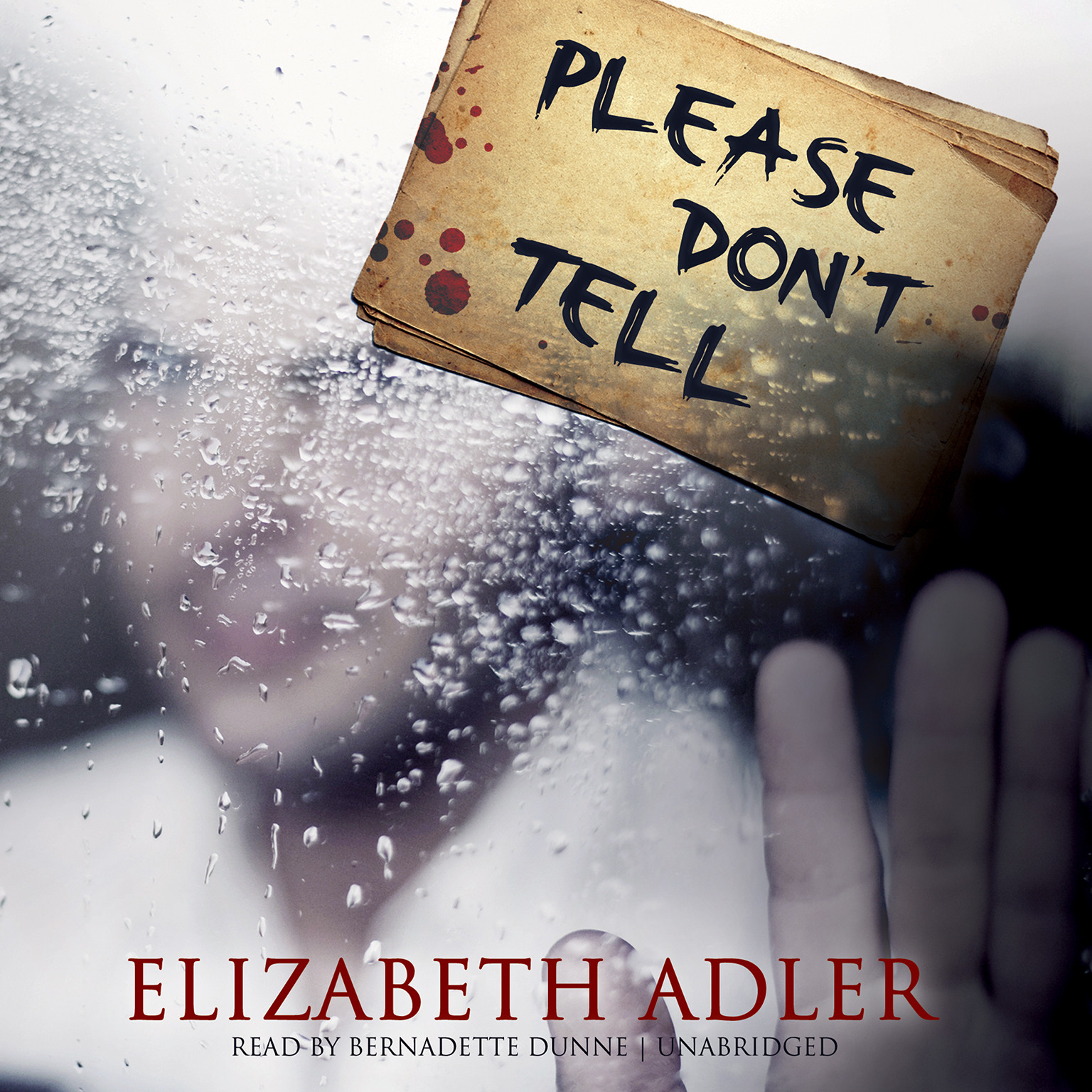 Printable Please Don't Tell Audiobook Cover Art