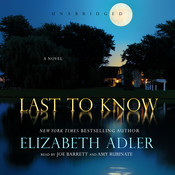 Last to Know, by Elizabeth Adler