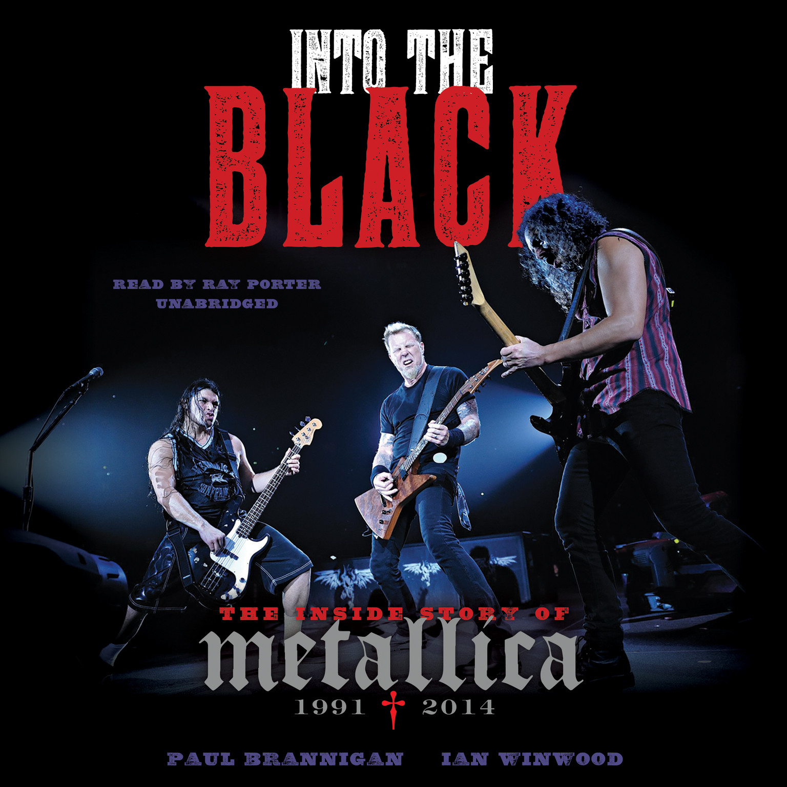 Printable Into the Black: The Inside Story of Metallica, 1991–2014 Audiobook Cover Art