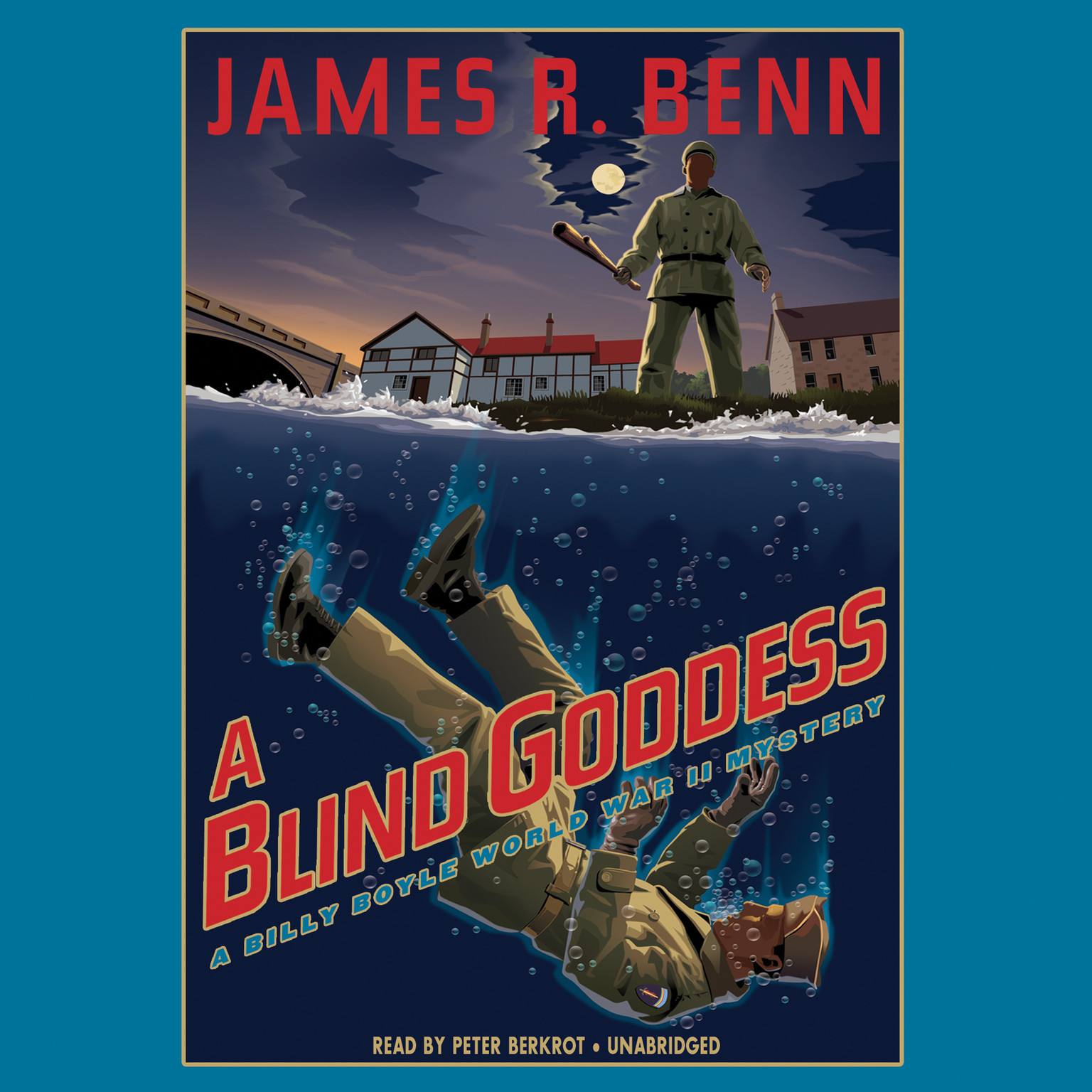 Printable A Blind Goddess: A Billy Boyle World War II Mystery Audiobook Cover Art