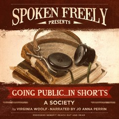 A Society Audiobook, by Virginia Woolf