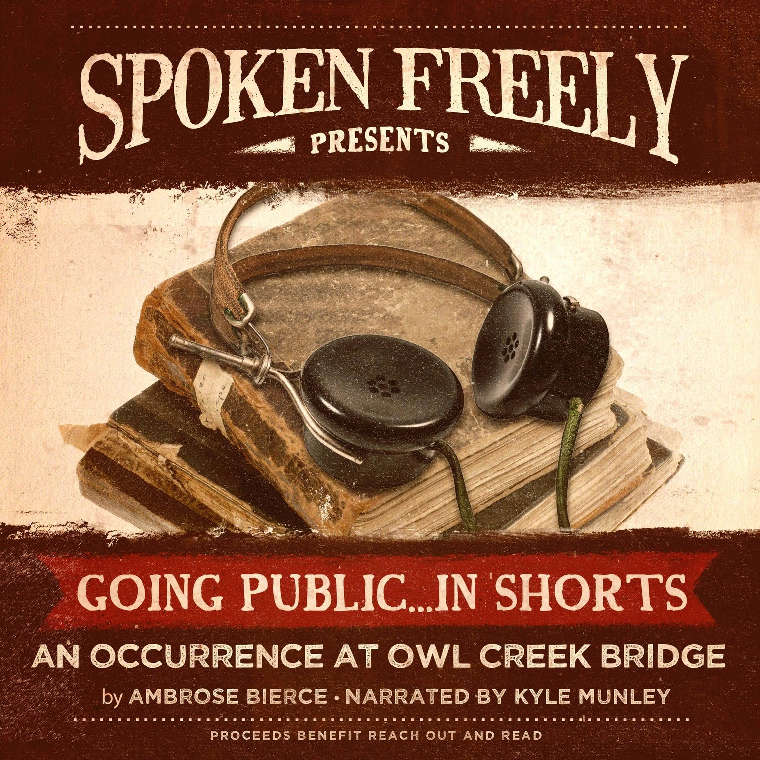 Printable An Occurrence at Owl Creek Bridge Audiobook Cover Art