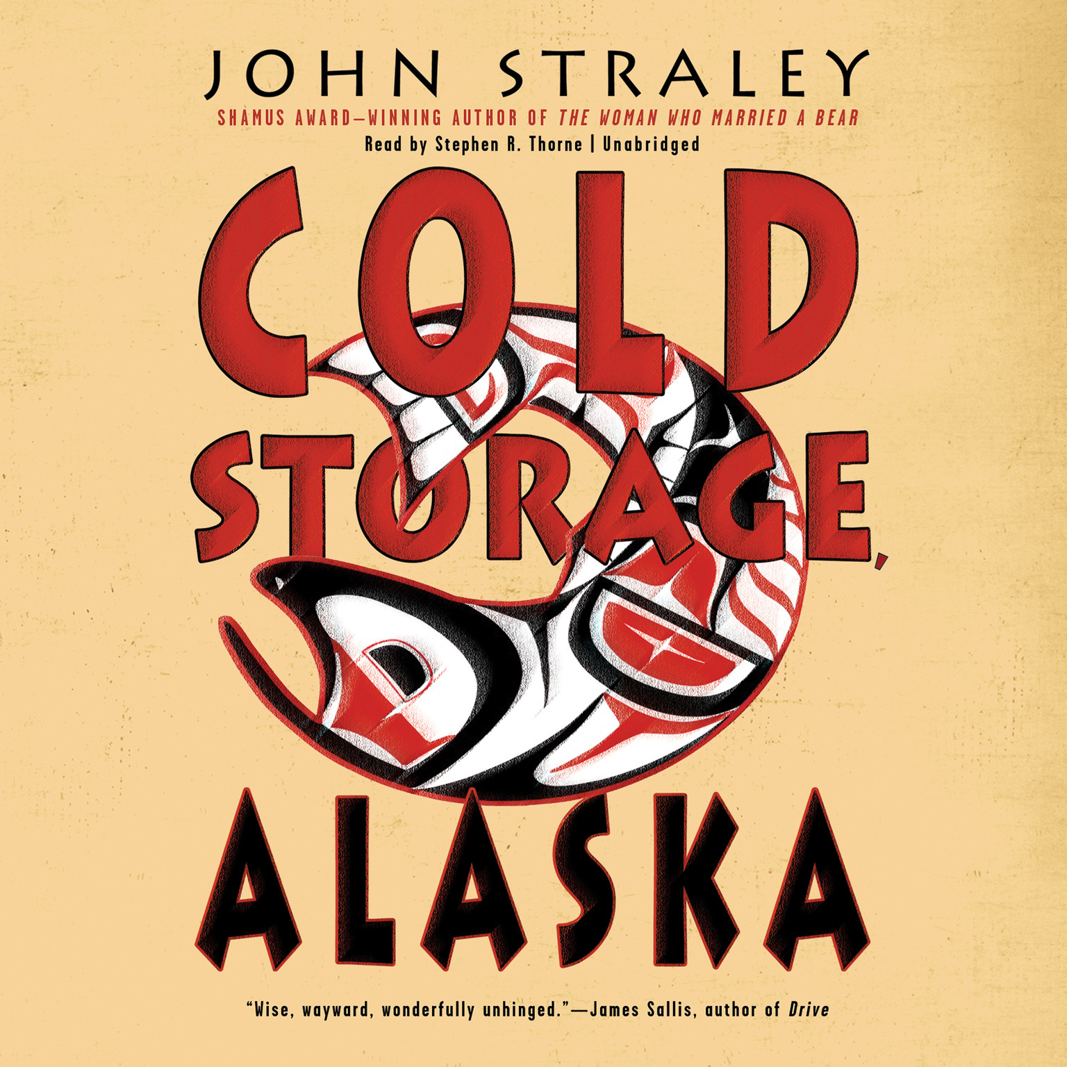 Printable Cold Storage, Alaska Audiobook Cover Art