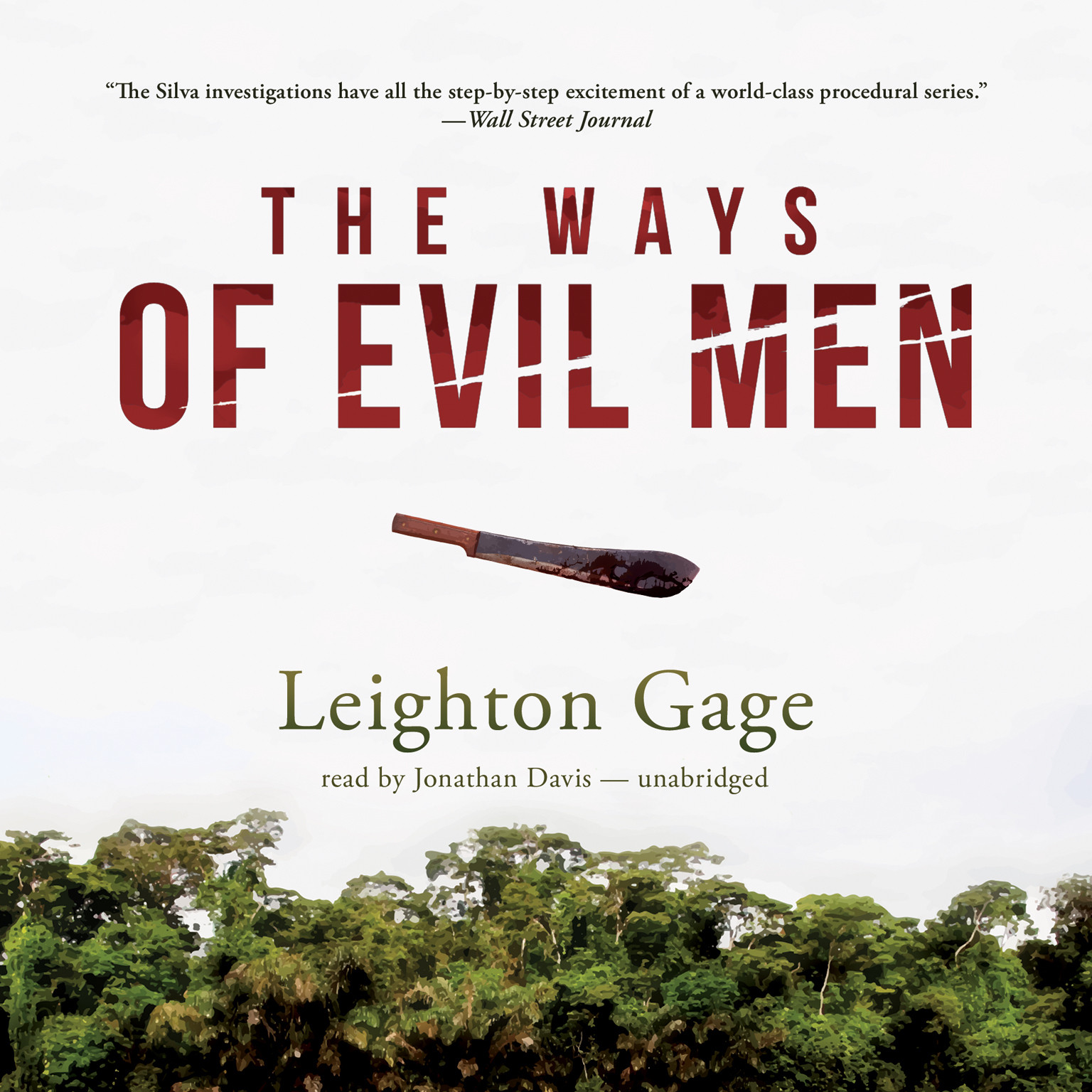 Printable The Ways of Evil Men Audiobook Cover Art