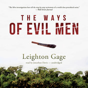 The Ways of Evil Men Audiobook, by Leighton Gage