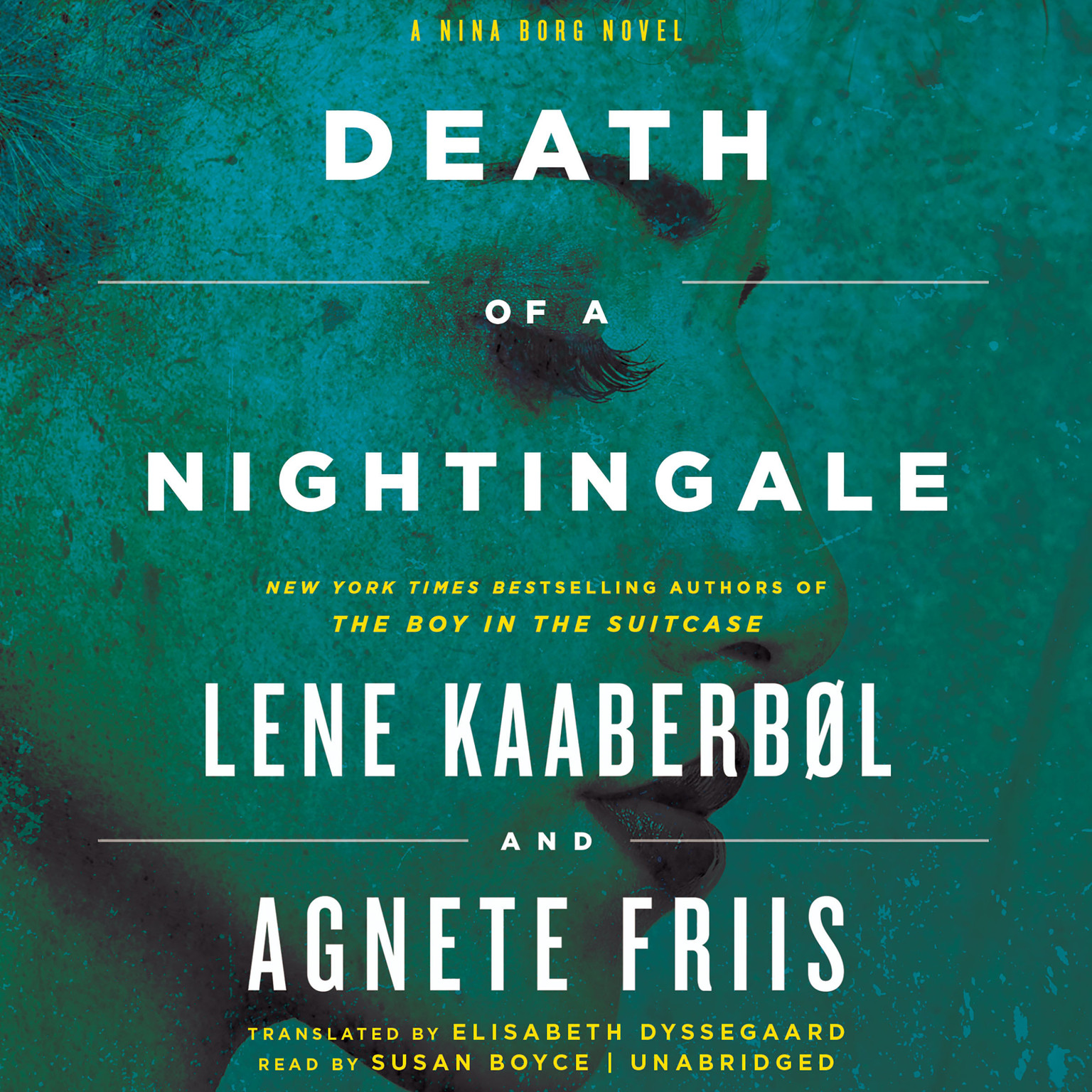Printable Death of a Nightingale Audiobook Cover Art