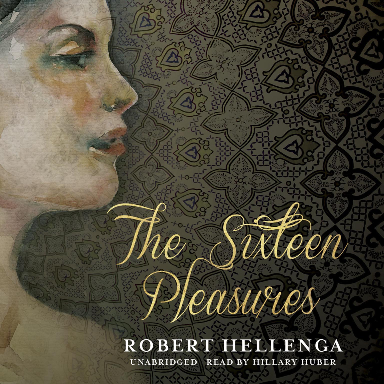 Printable The Sixteen Pleasures Audiobook Cover Art