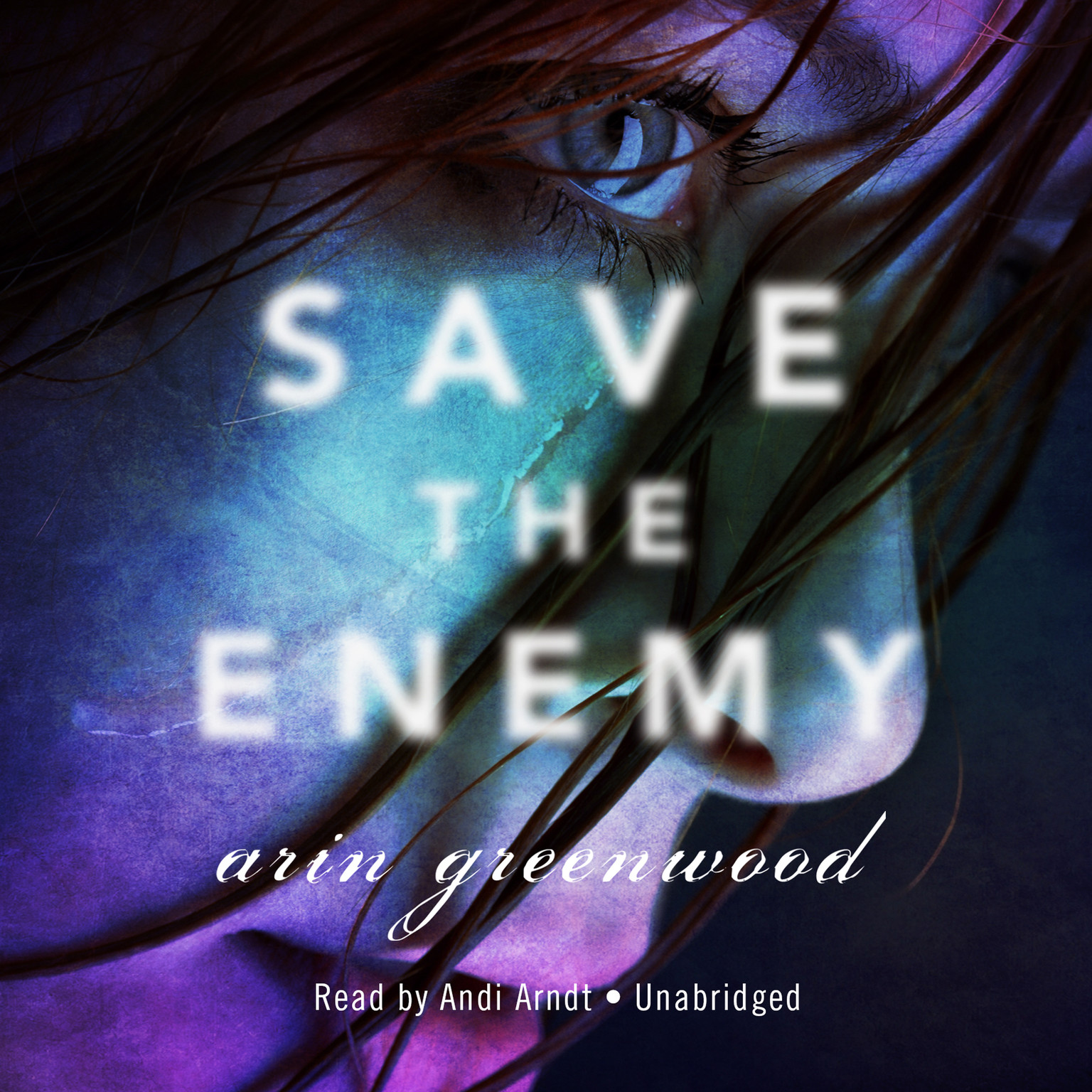 Printable Save the Enemy Audiobook Cover Art