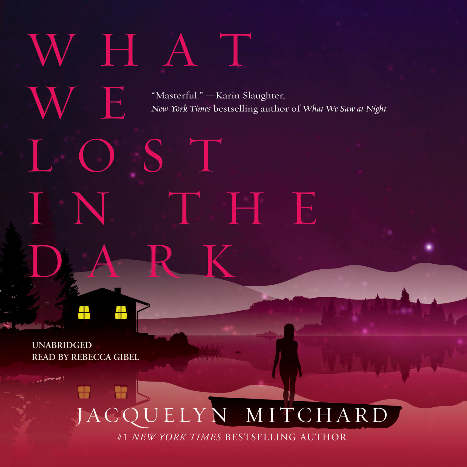 Printable What We Lost in the Dark Audiobook Cover Art