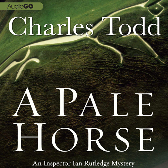 Printable A Pale Horse Audiobook Cover Art