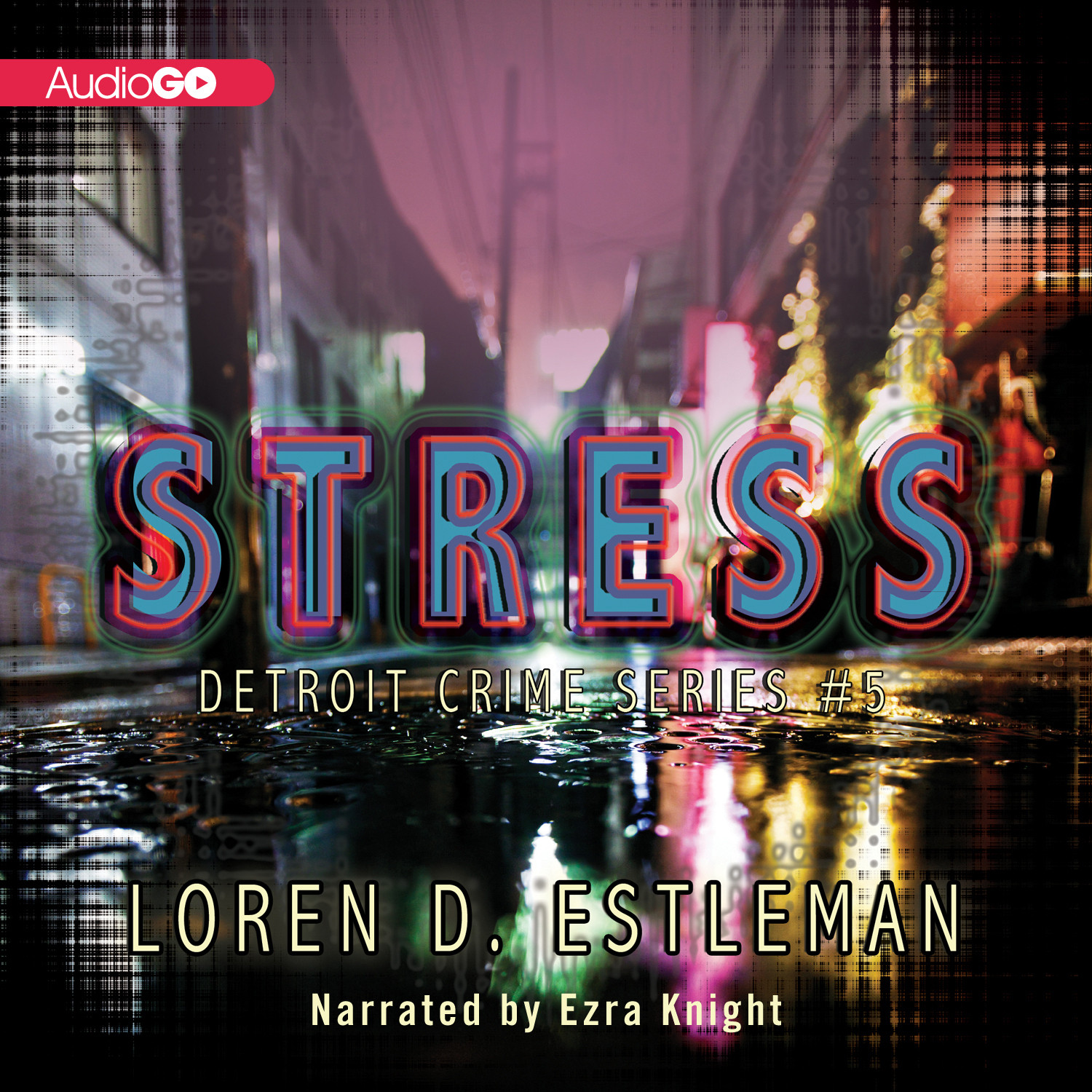Printable Stress Audiobook Cover Art