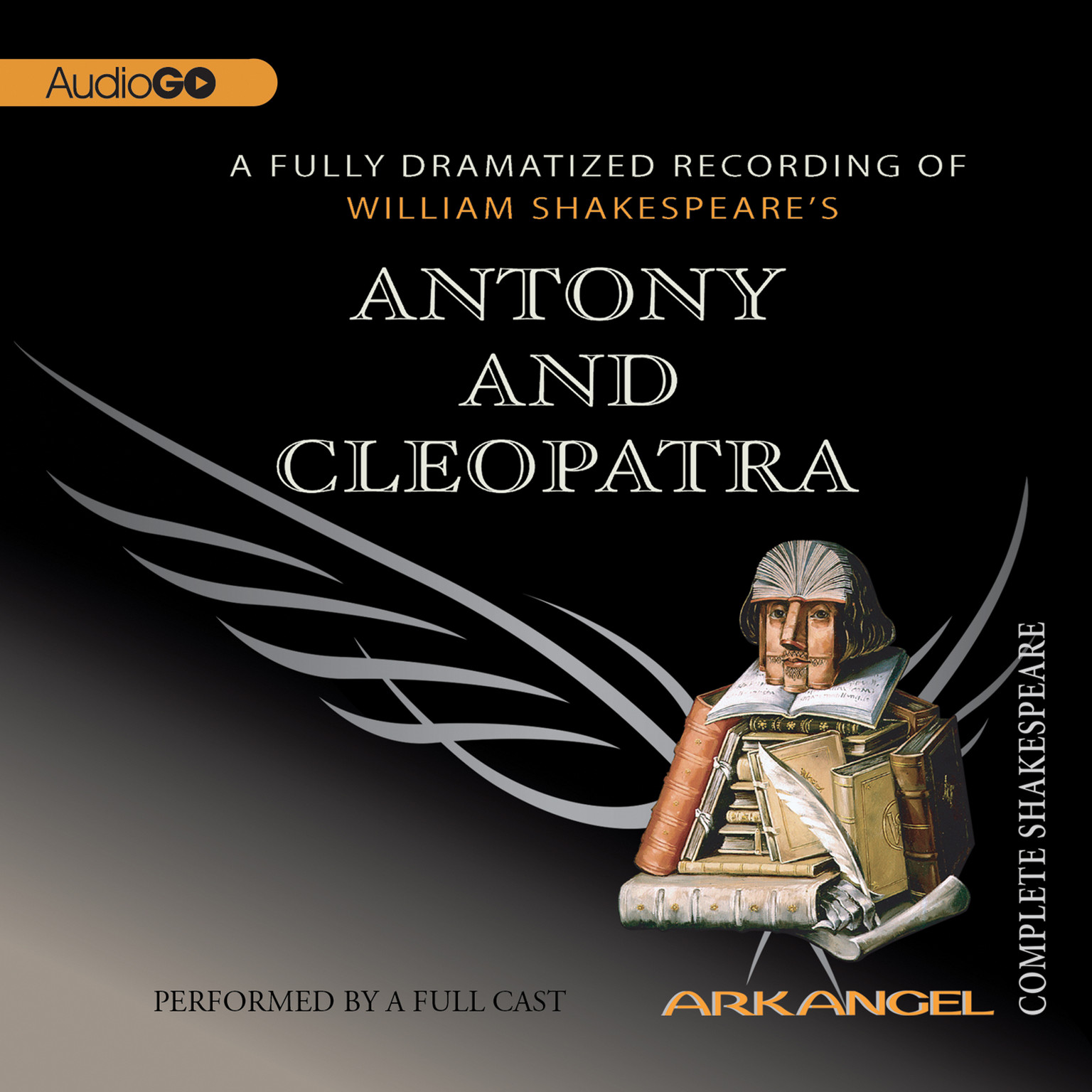 Printable Antony and Cleopatra Audiobook Cover Art