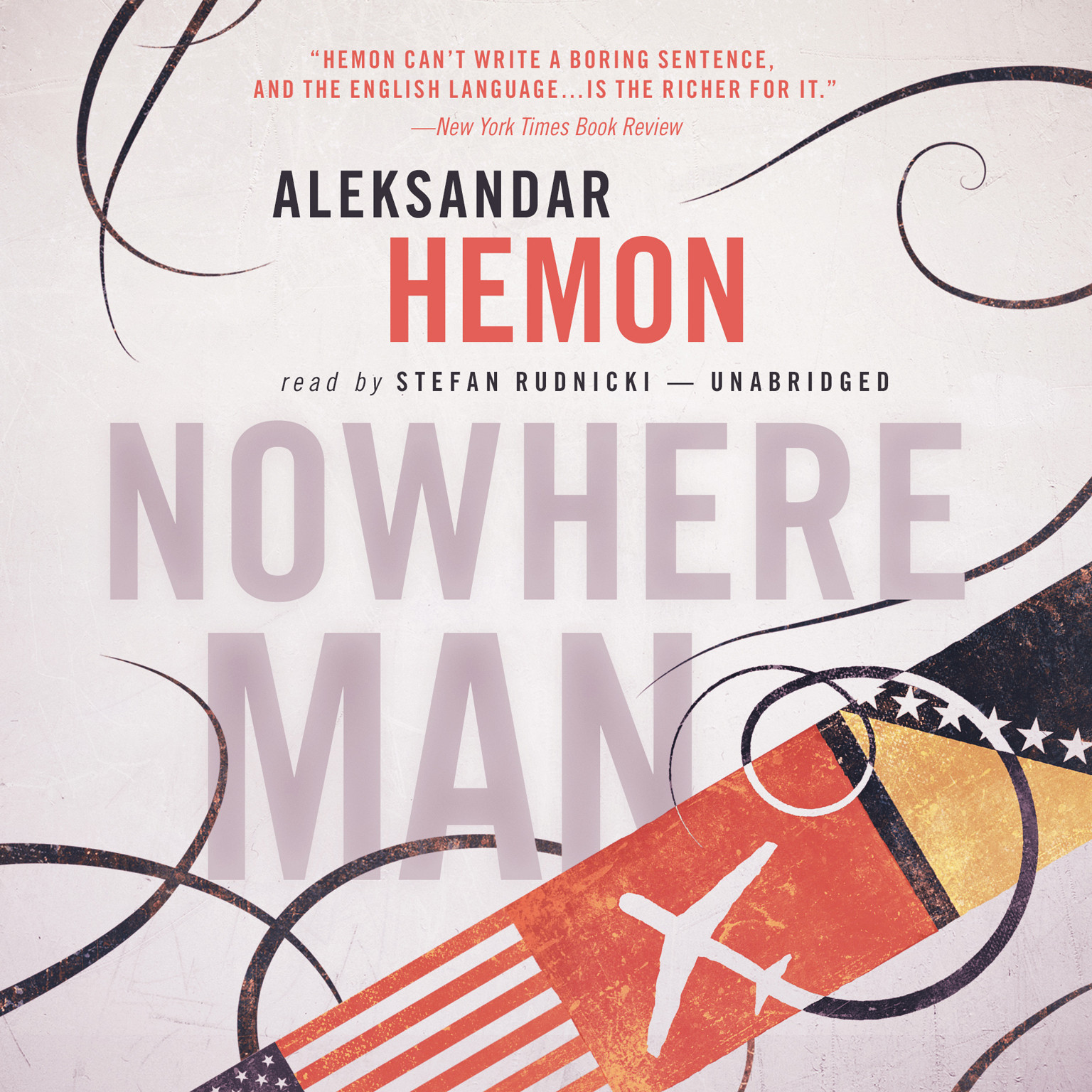 Printable Nowhere Man Audiobook Cover Art