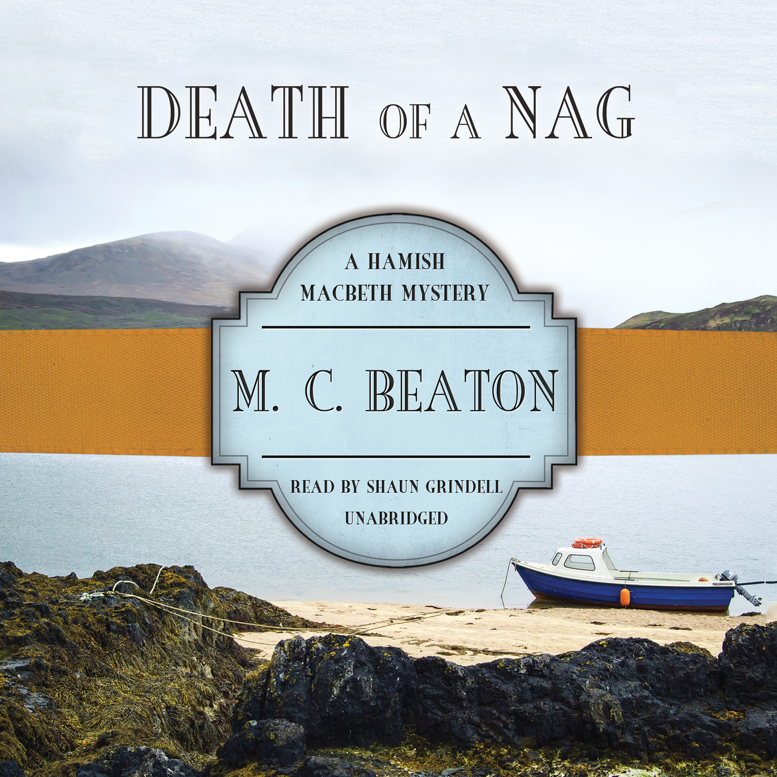 Printable Death of a Nag Audiobook Cover Art
