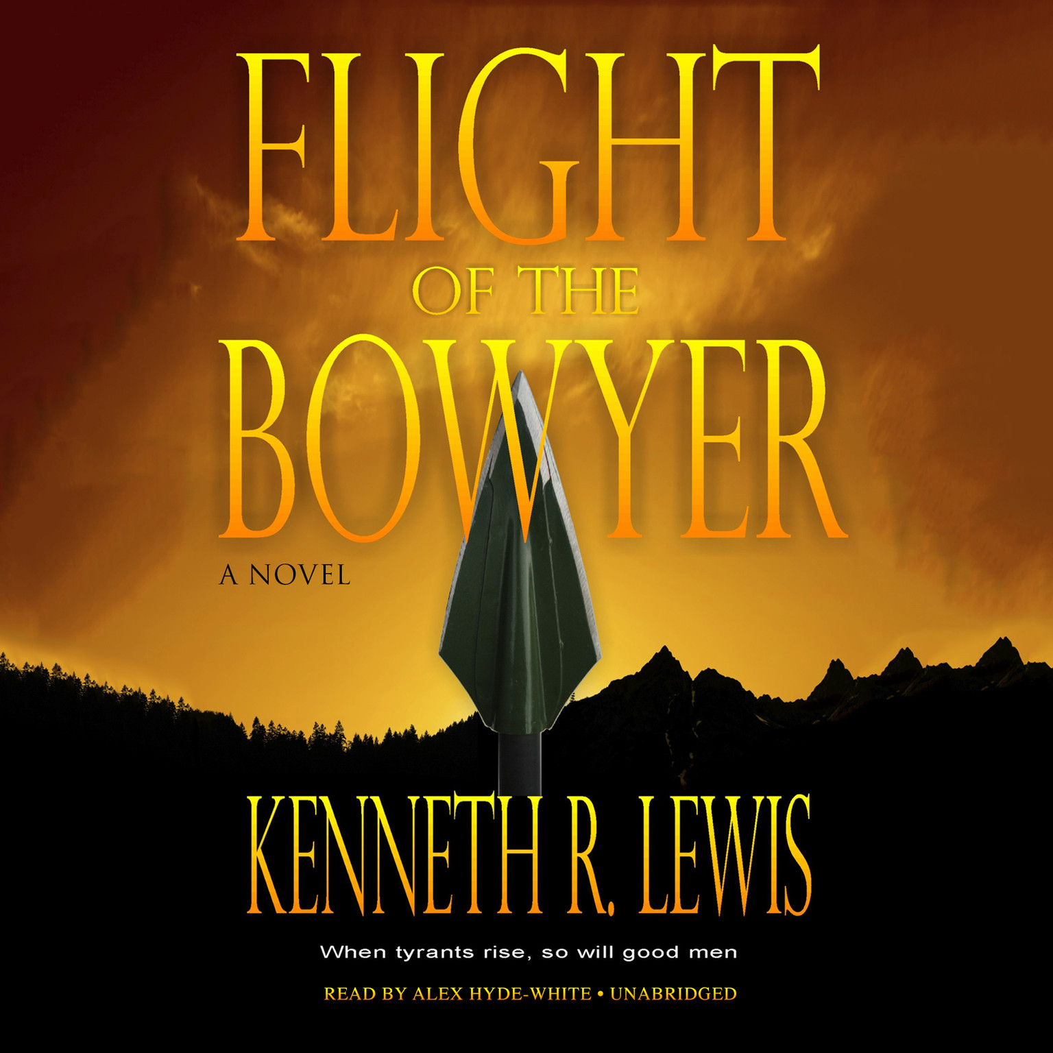Printable Flight of the Bowyer: A Novel Audiobook Cover Art