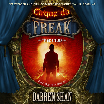 Tunnels of Blood Audiobook, by Darren Shan