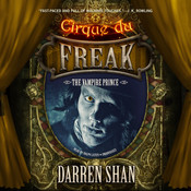 The Vampire Prince Audiobook, by Darren Shan