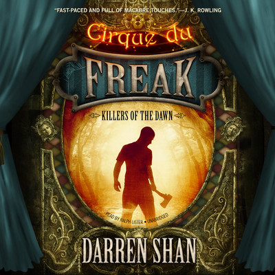 Killers of the Dawn Audiobook, by Darren Shan
