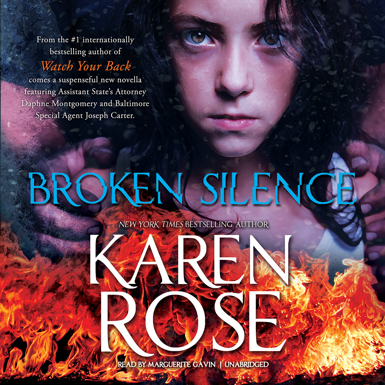 Printable Broken Silence Audiobook Cover Art