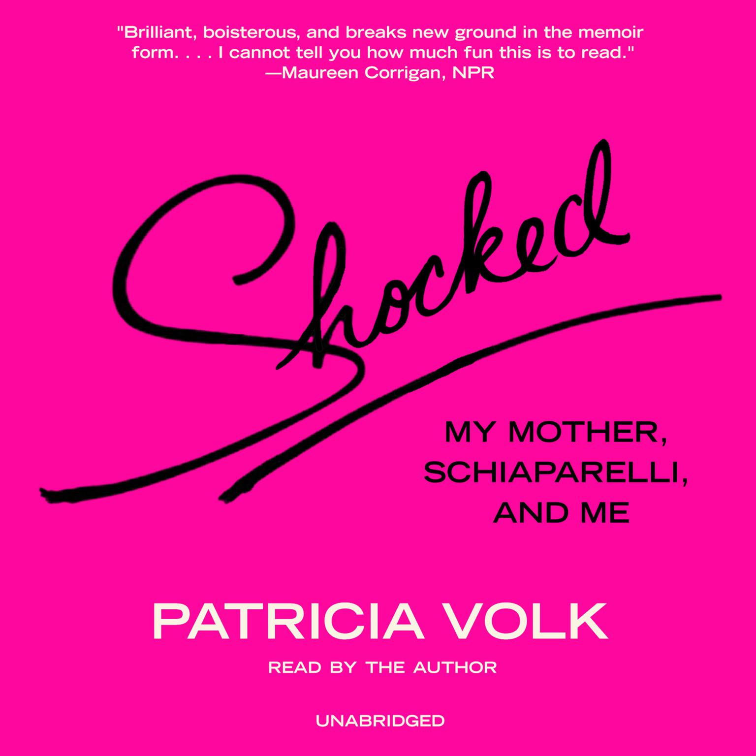 Printable Shocked: My Mother, Schiaparelli, and Me Audiobook Cover Art