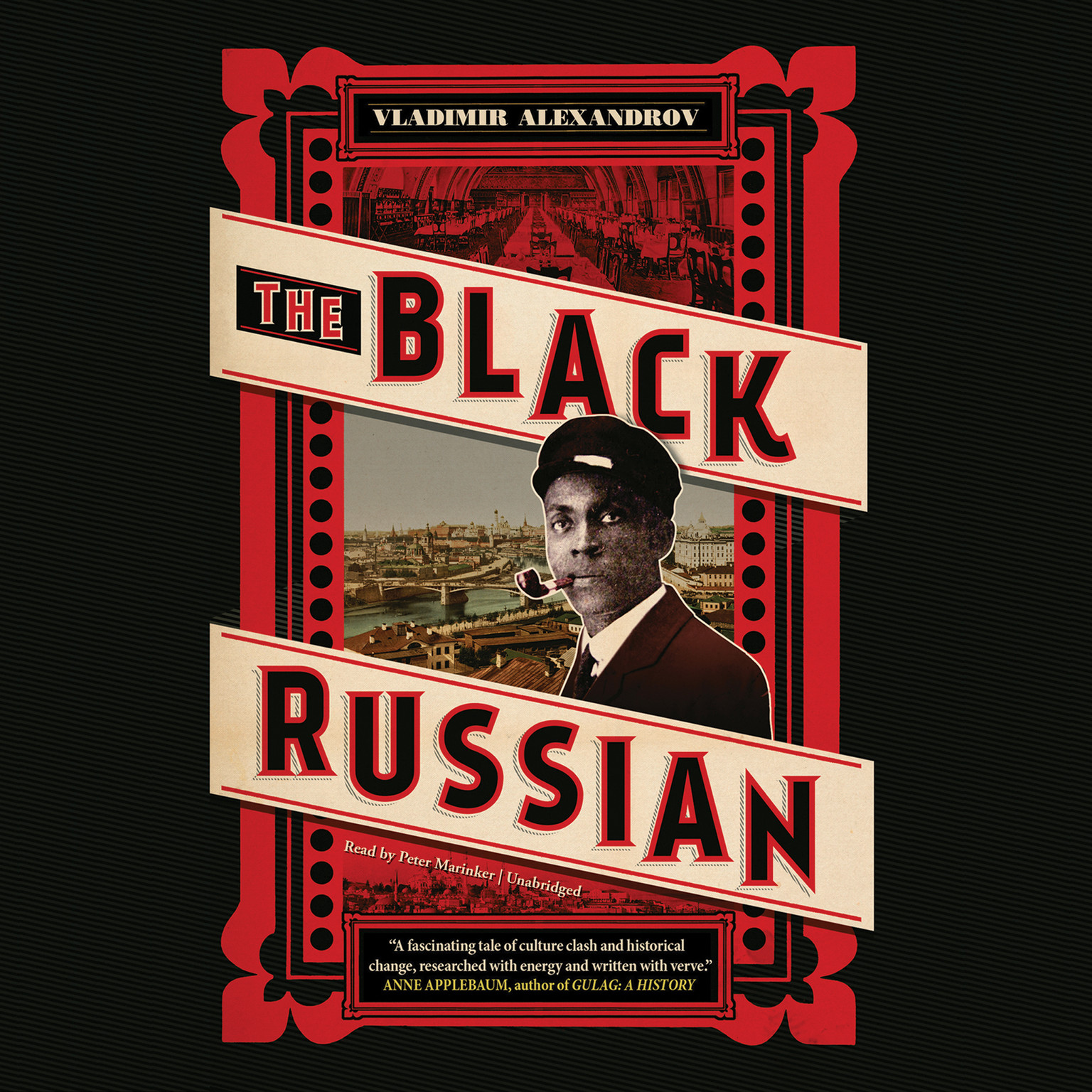 Printable The Black Russian Audiobook Cover Art