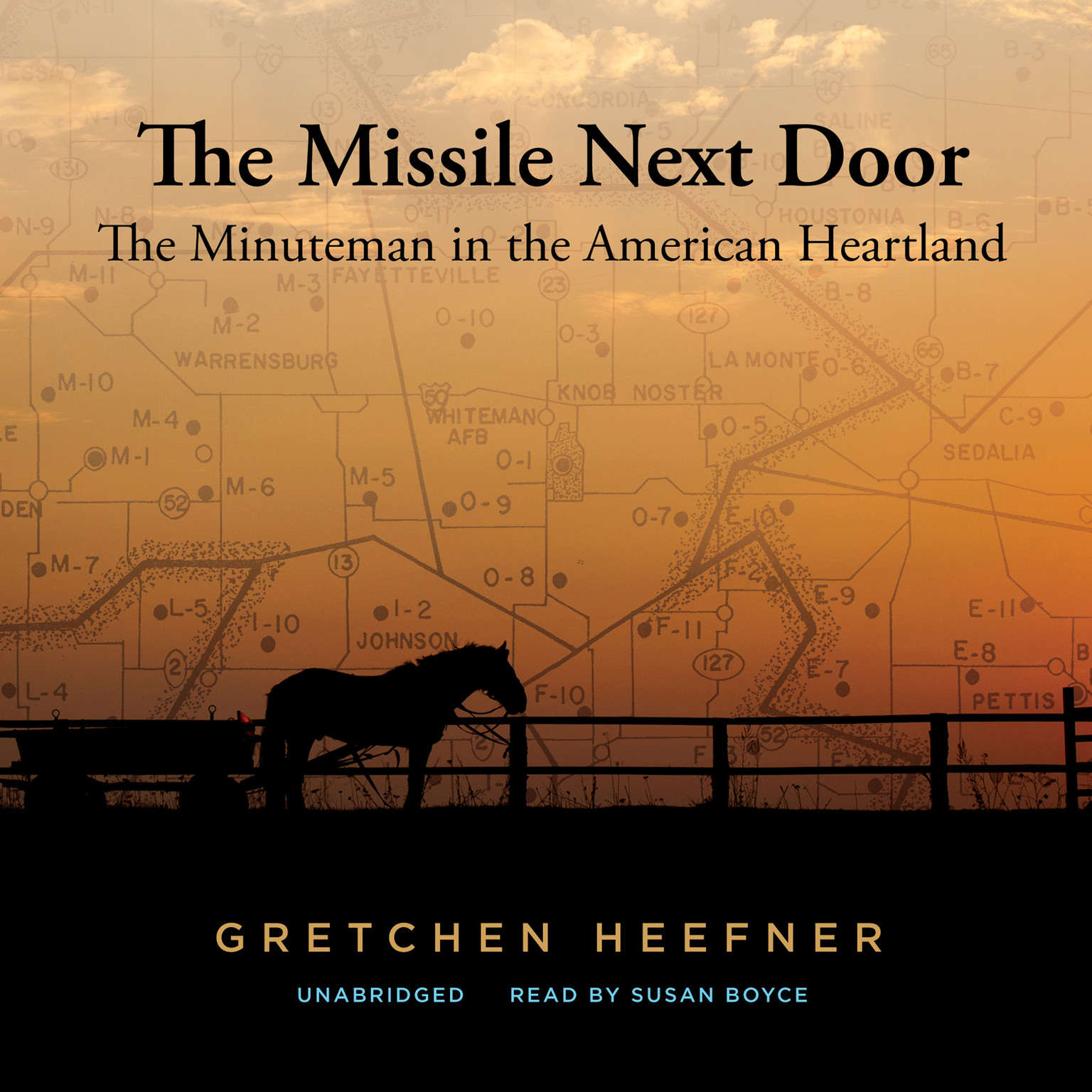 Printable The Missile Next Door: The Minuteman in the American Heartland Audiobook Cover Art