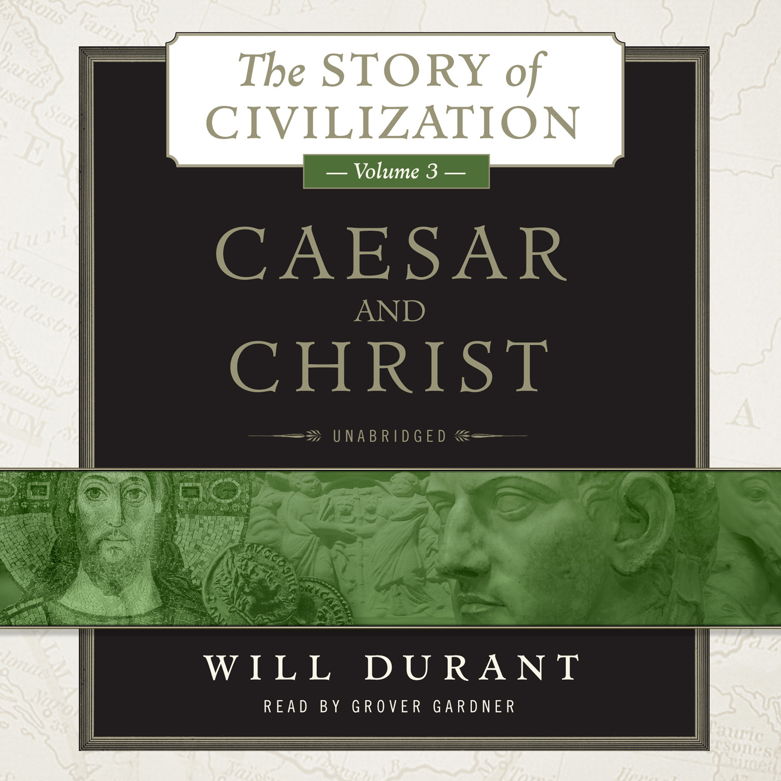 Printable Caesar and Christ: A History of Roman Civilization and of Christianity from Their Beginnings to AD 325 Audiobook Cover Art