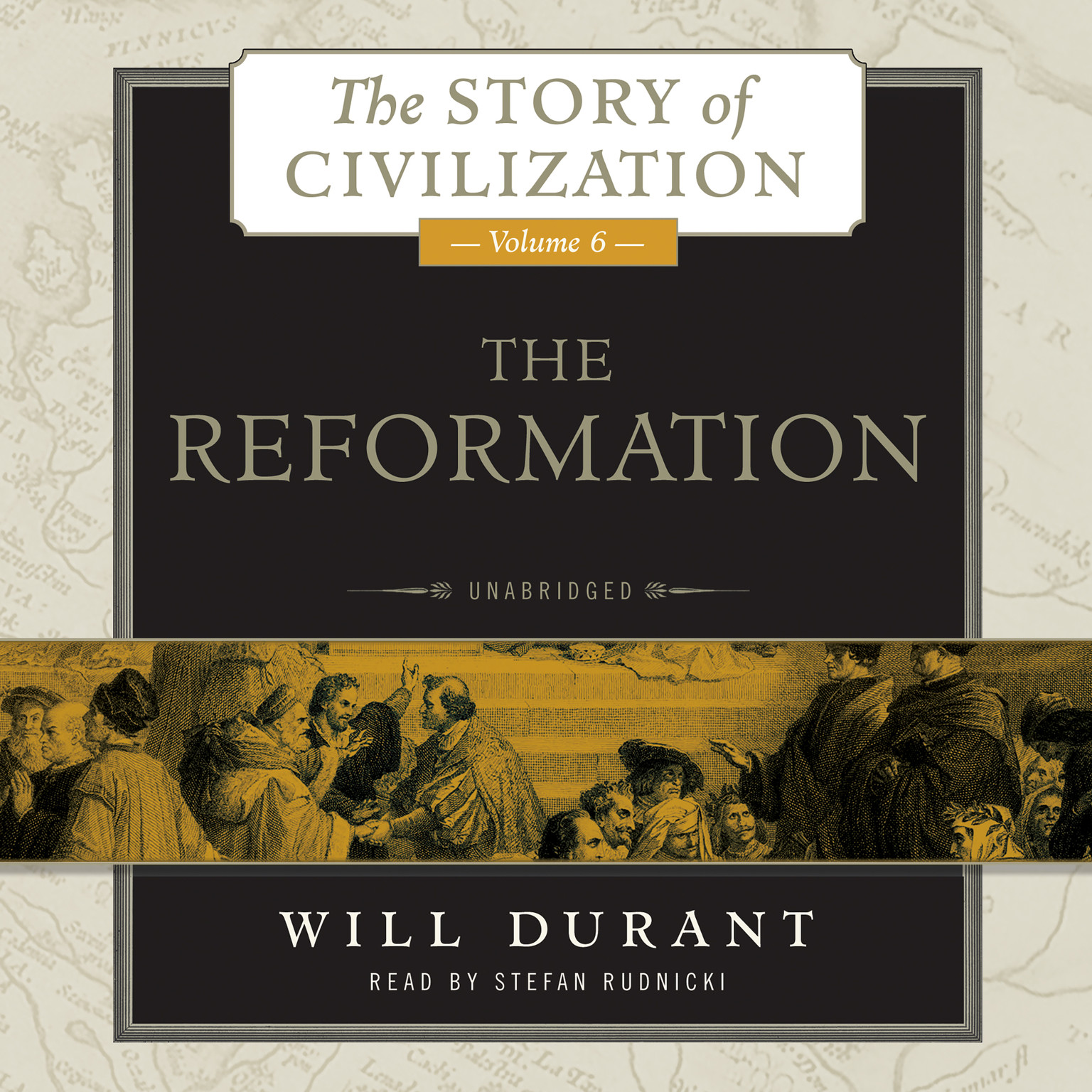 Printable The Reformation: A History of European Civilization from Wycliffe to Calvin, 1300–1564 Audiobook Cover Art