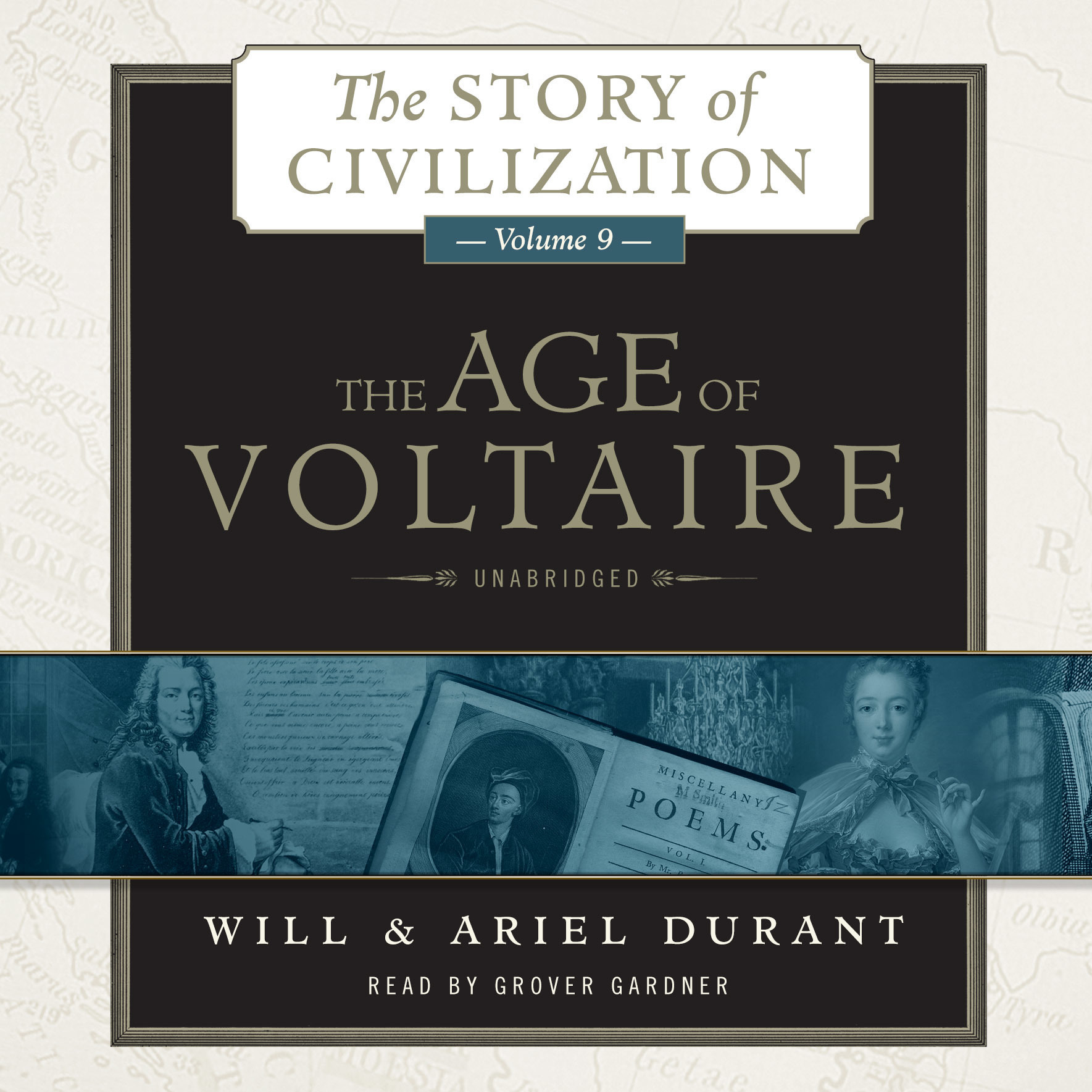 Printable The Age of Voltaire: A History of Civlization in Western Europe from 1715 to 1756, with Special Emphasis on the Conflict between Religion and Philosophy Audiobook Cover Art