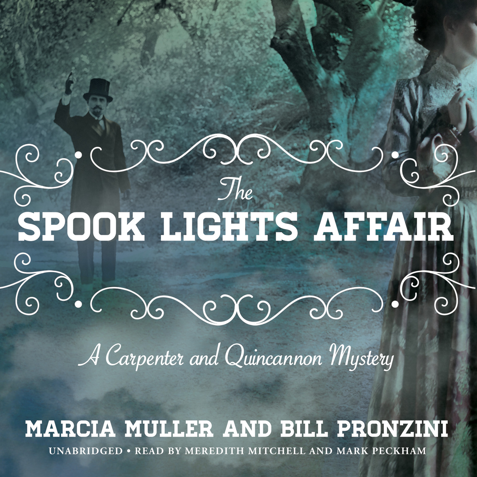 Printable The Spook Lights Affair: A Carpenter and Quincannon Mystery Audiobook Cover Art