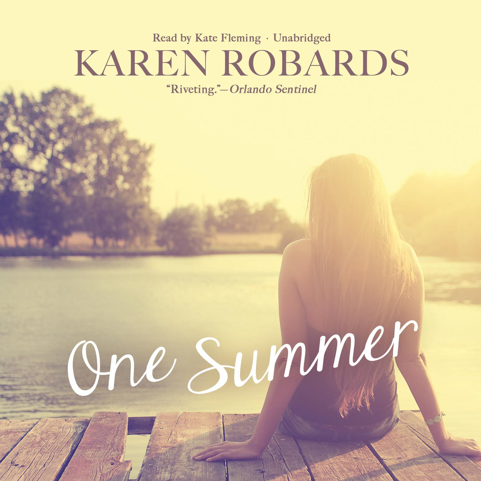 Printable One Summer Audiobook Cover Art