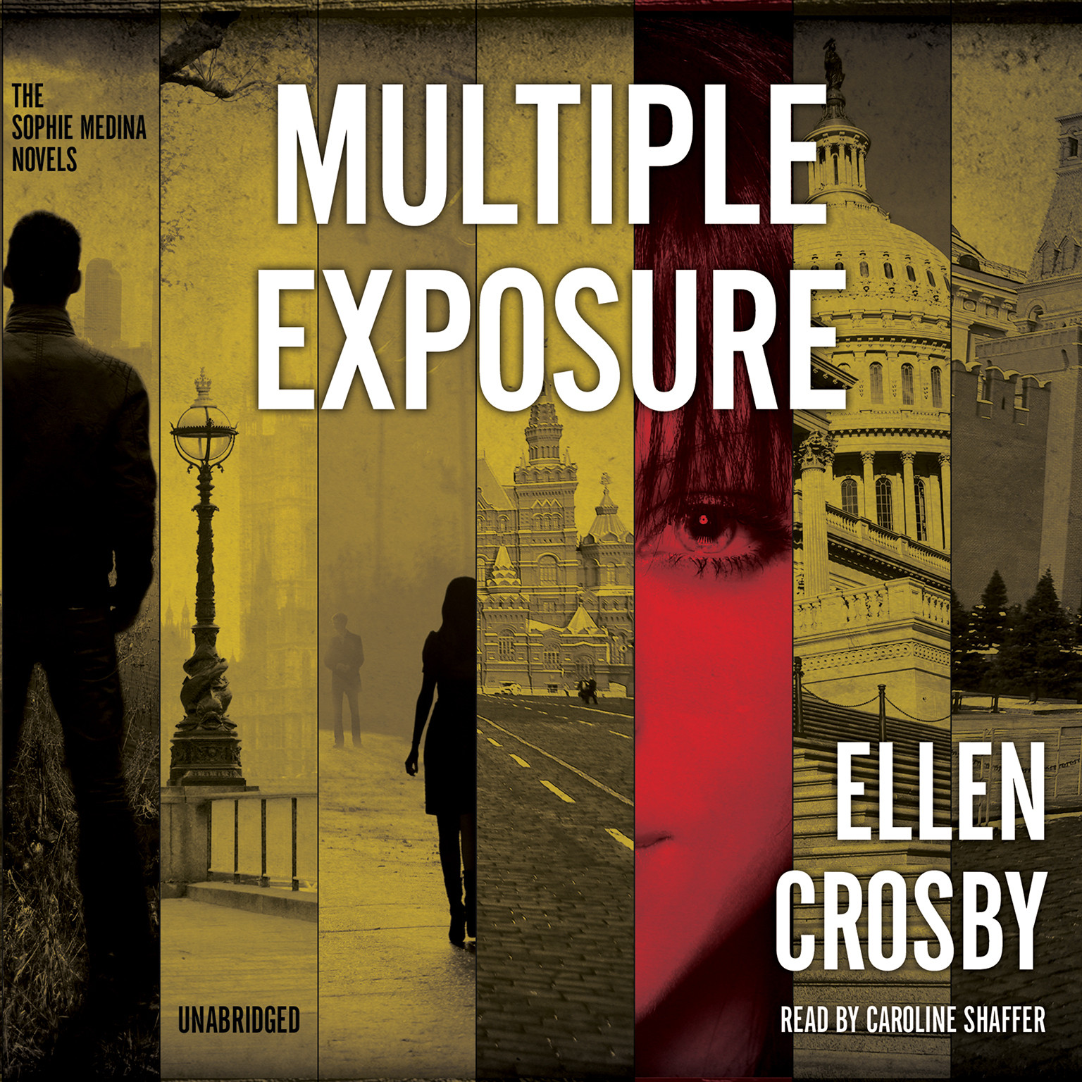 Printable Multiple Exposure: A Sophie Medina Novel Audiobook Cover Art