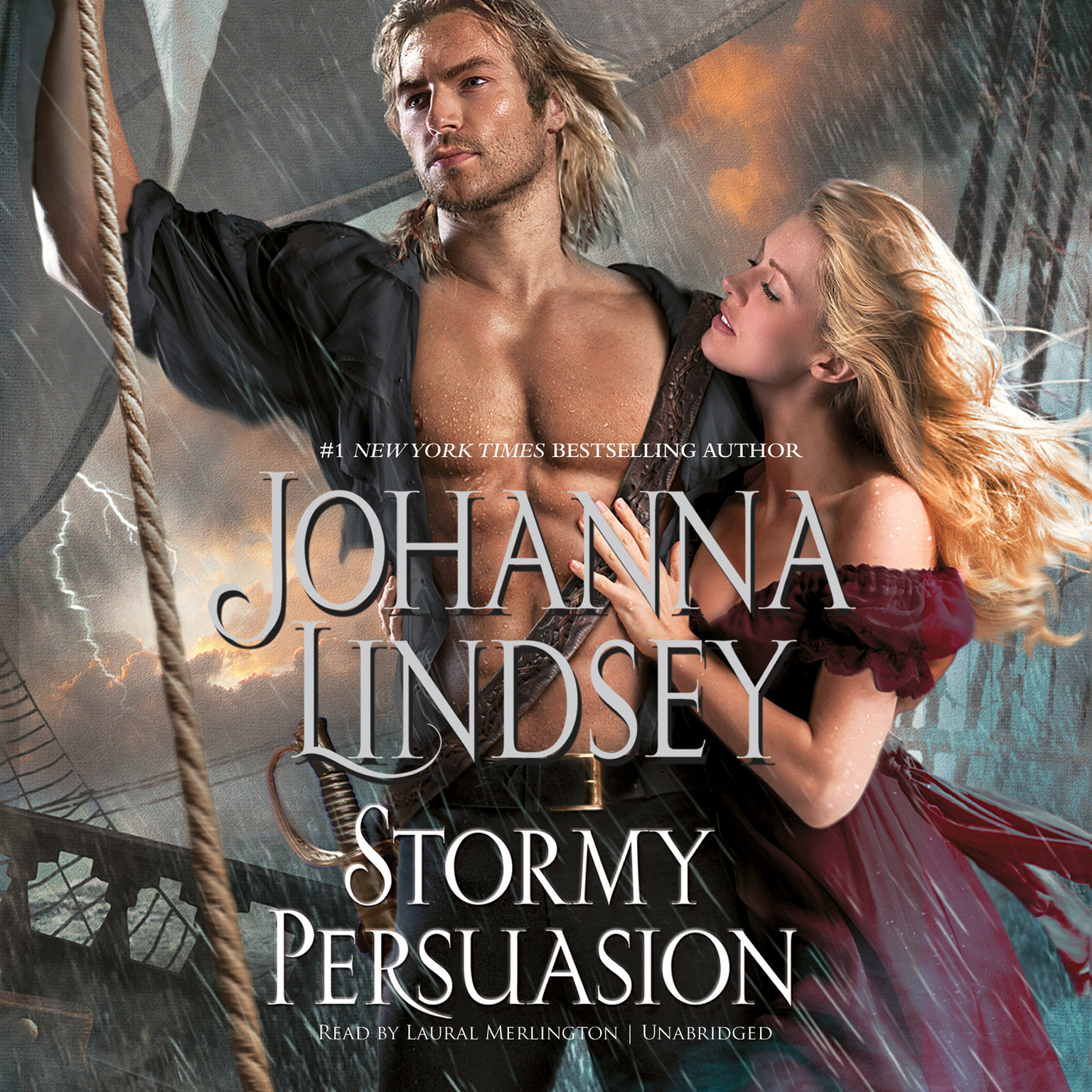 Printable Stormy Persuasion Audiobook Cover Art