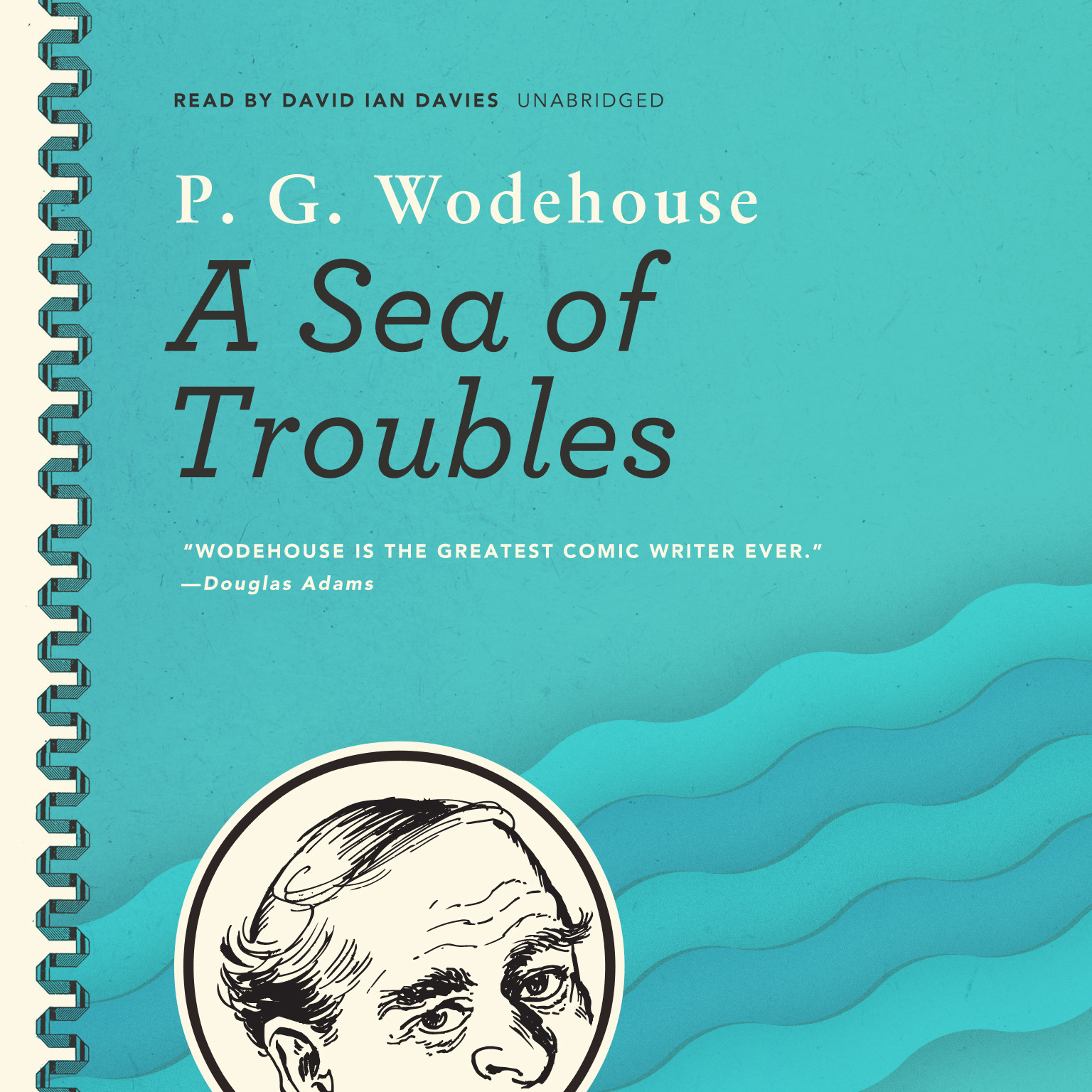Printable A Sea of Troubles Audiobook Cover Art