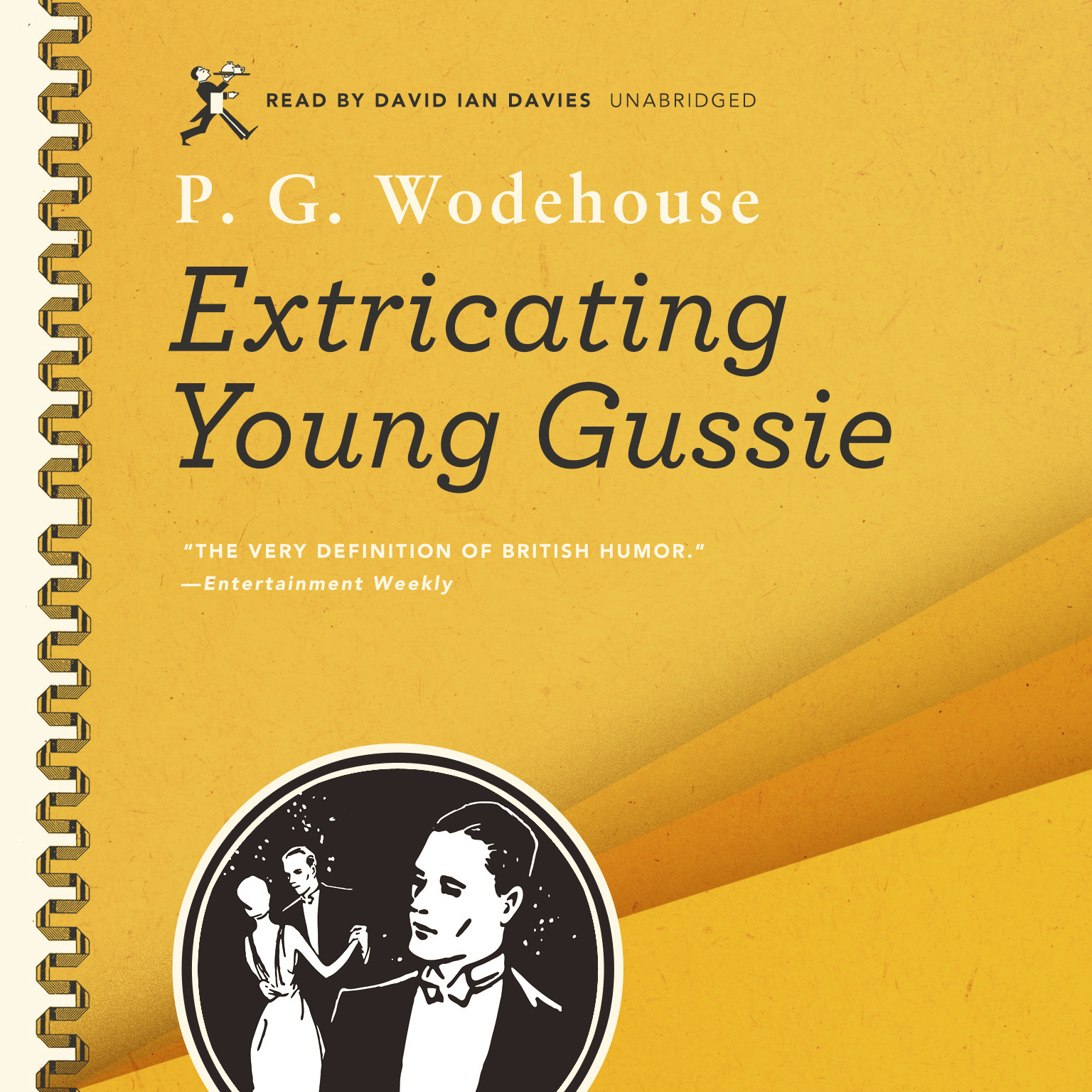 Printable Extricating Young Gussie Audiobook Cover Art