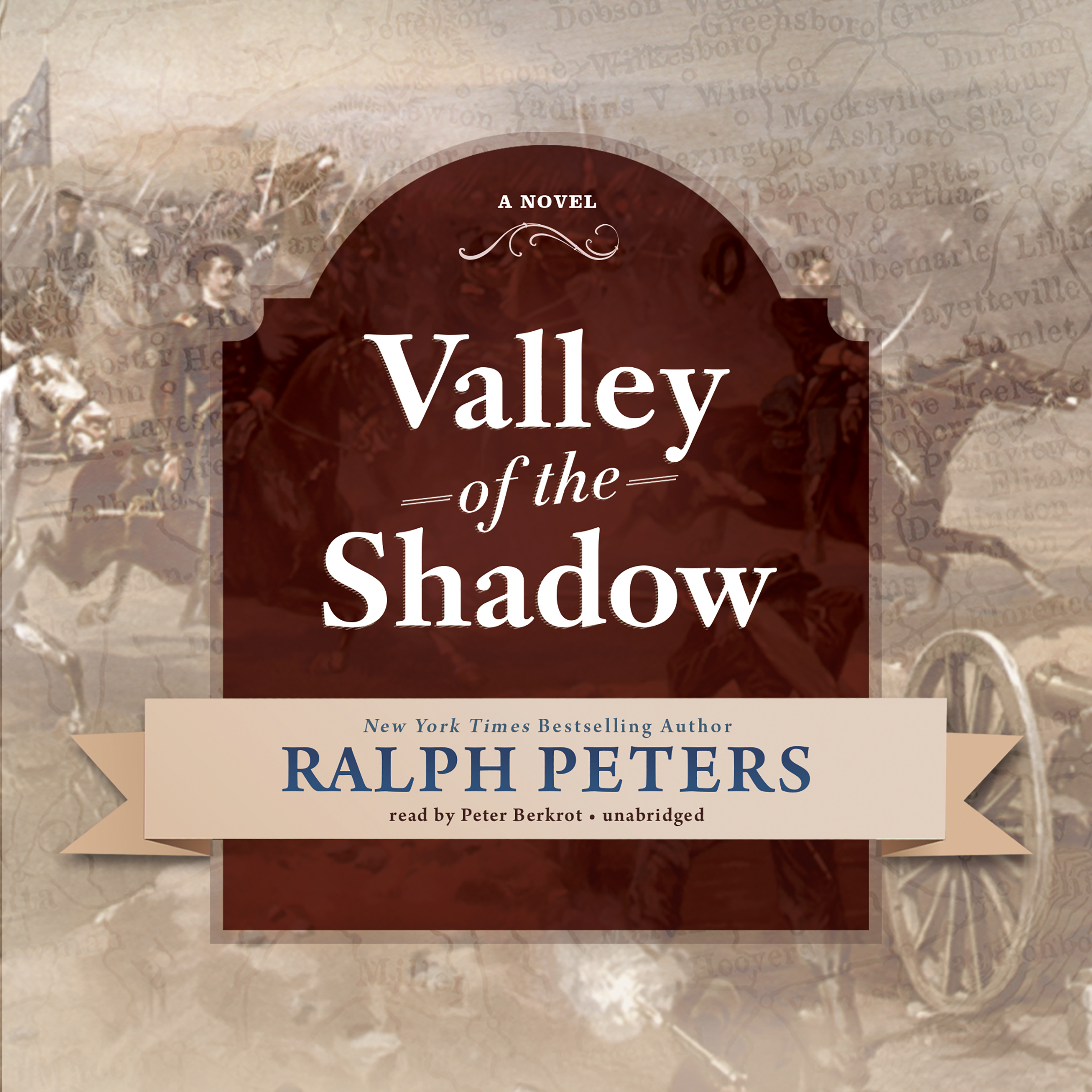 Printable Valley of the Shadow Audiobook Cover Art