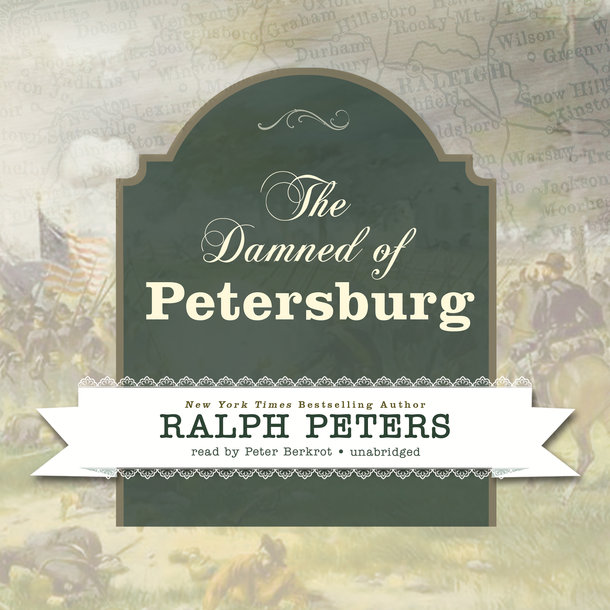 Printable The Damned of Petersburg Audiobook Cover Art