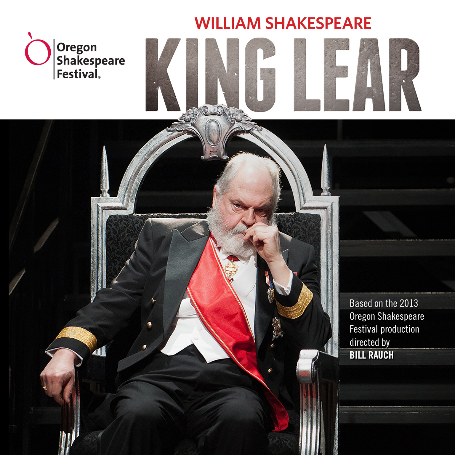 Printable King Lear Audiobook Cover Art