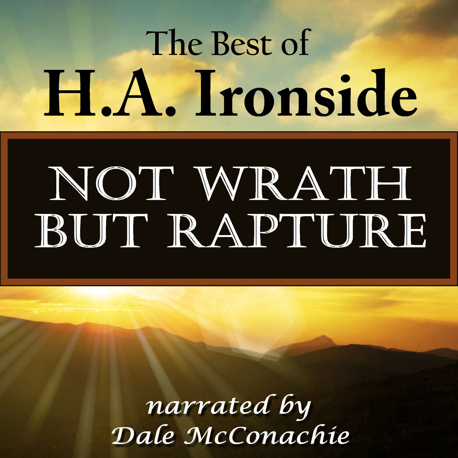 Printable Not Wrath—But Rapture Audiobook Cover Art