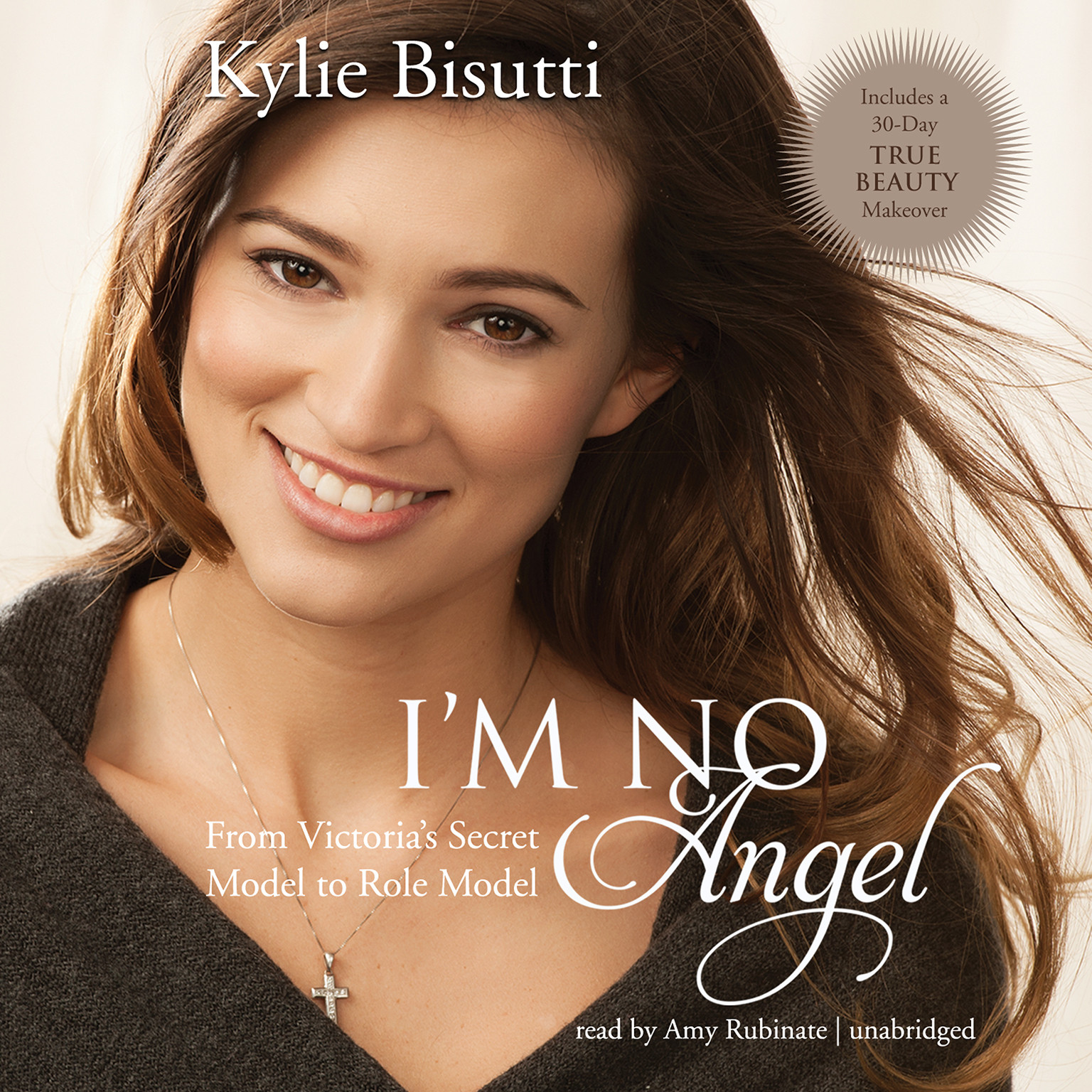 Printable I'm No Angel: From Victoria's Secret Model to Role Model Audiobook Cover Art