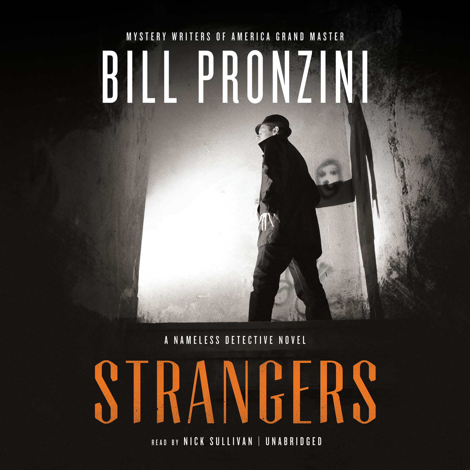 Printable Strangers: A Nameless Detective Novel Audiobook Cover Art