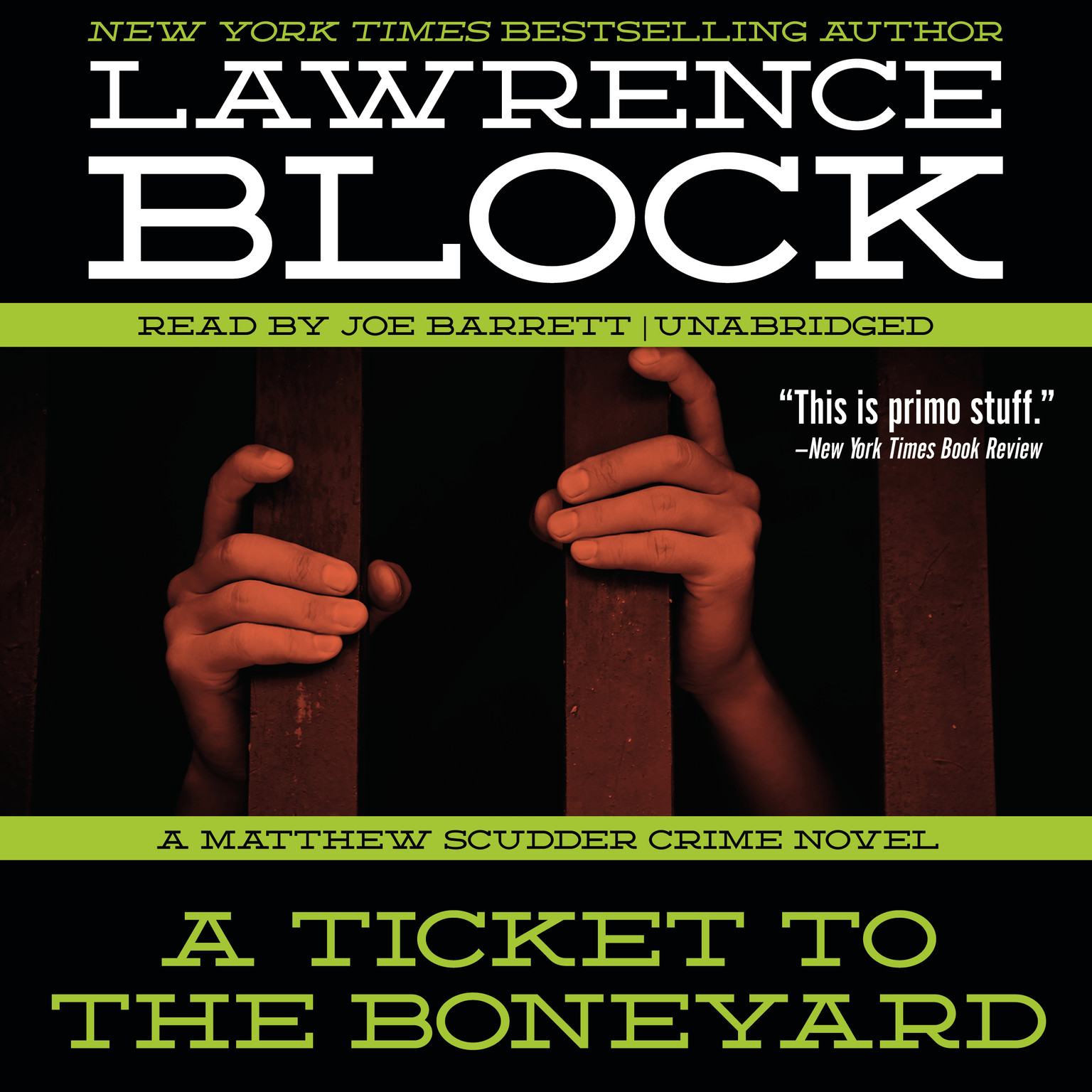 Printable A Ticket to the Boneyard: A Matthew Scudder Crime Novel Audiobook Cover Art