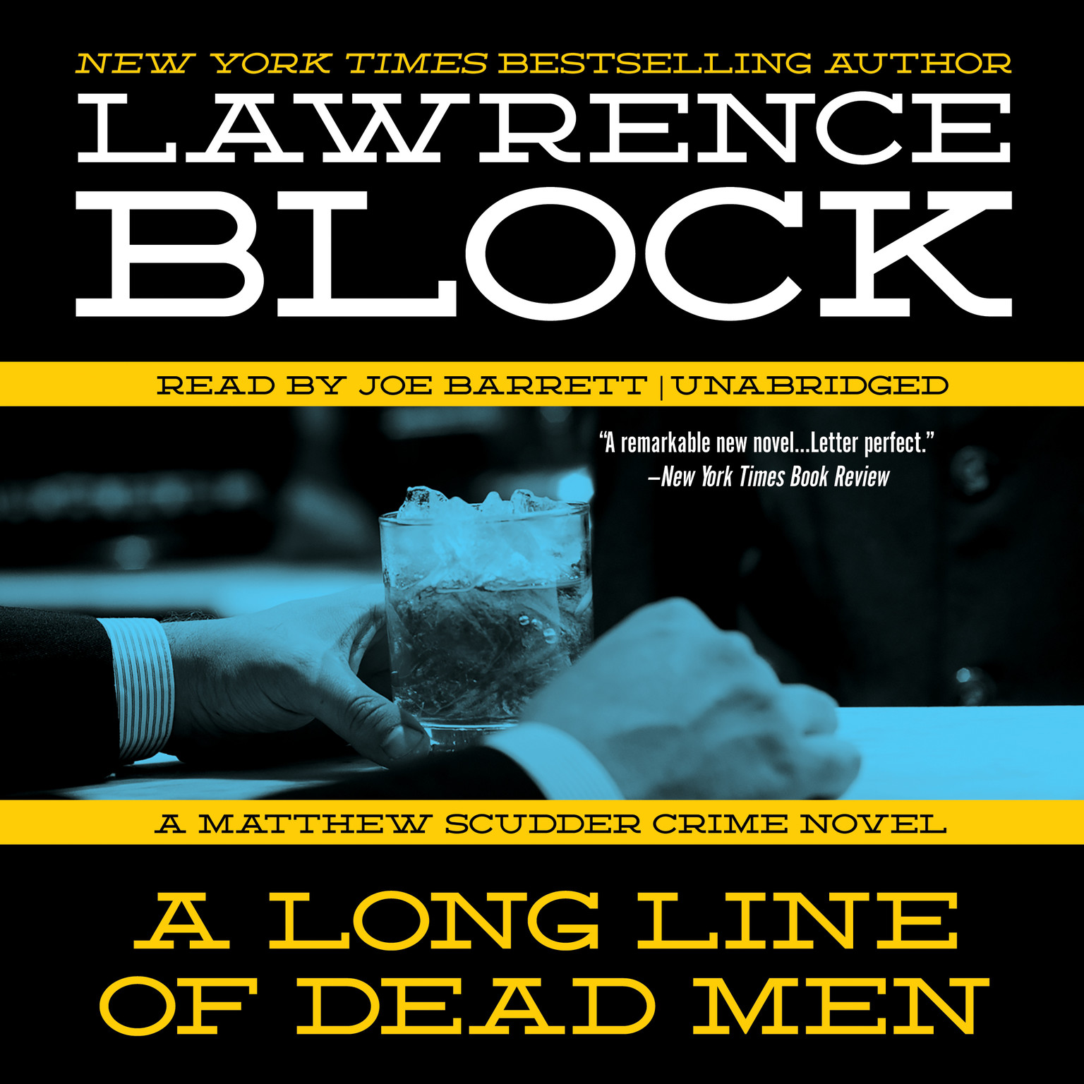 Printable A Long Line of Dead Men: A Matthew Scudder Novel Audiobook Cover Art