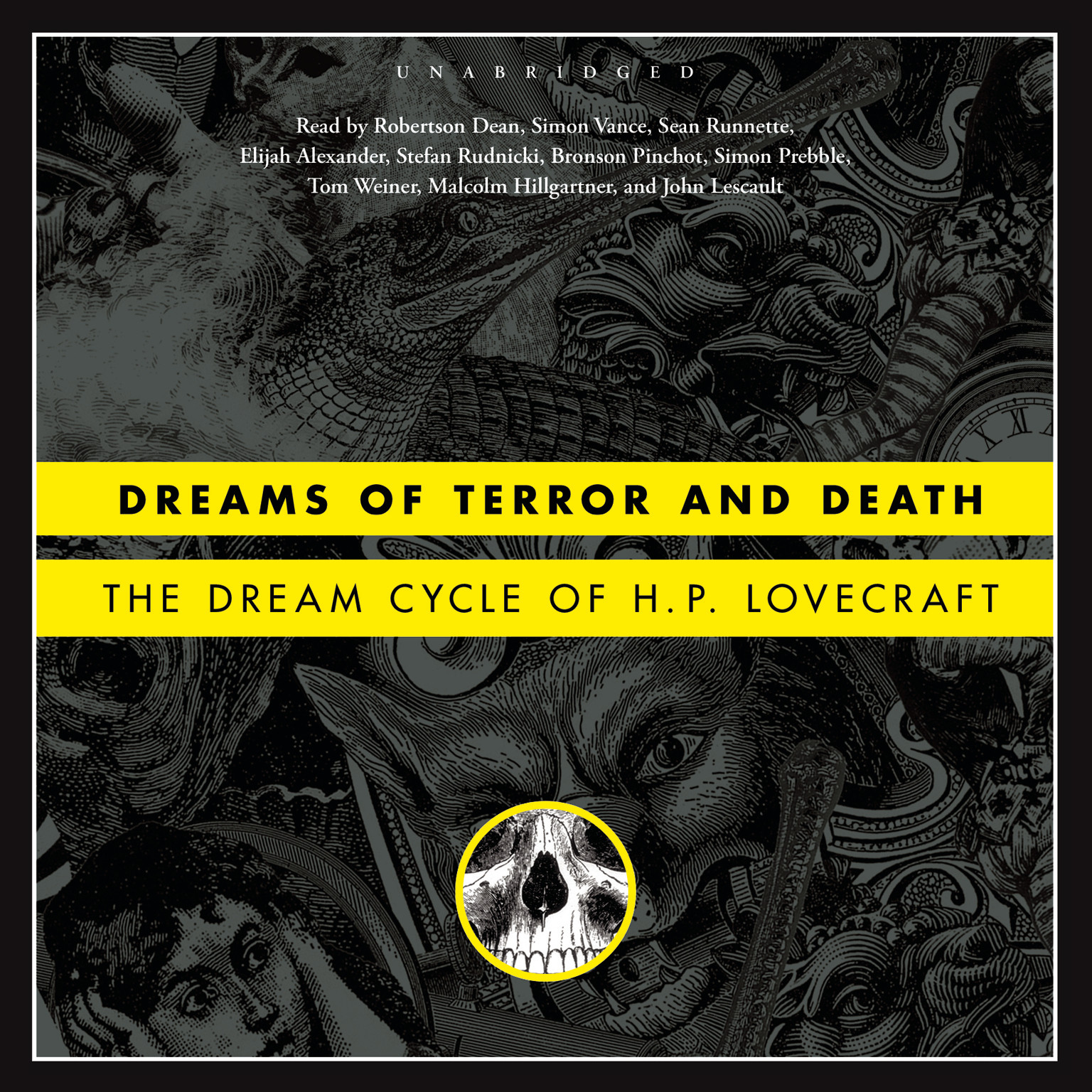 Printable Dreams of Terror and Death: The Dream Cycle of H. P. Lovecraft Audiobook Cover Art