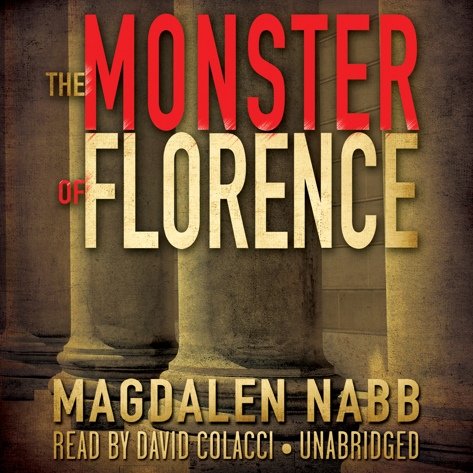 Printable The Monster of Florence Audiobook Cover Art