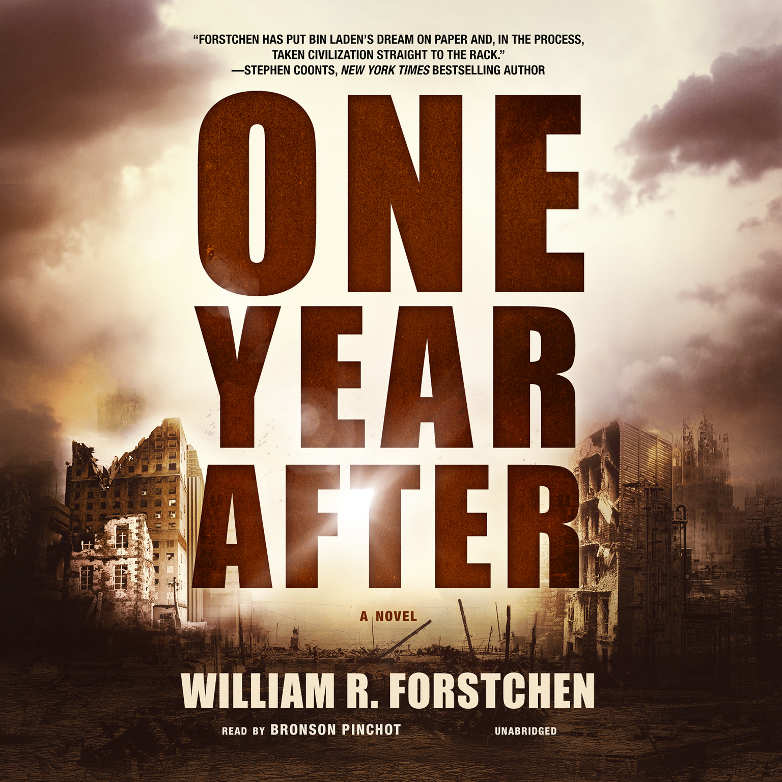 Printable One Year After Audiobook Cover Art