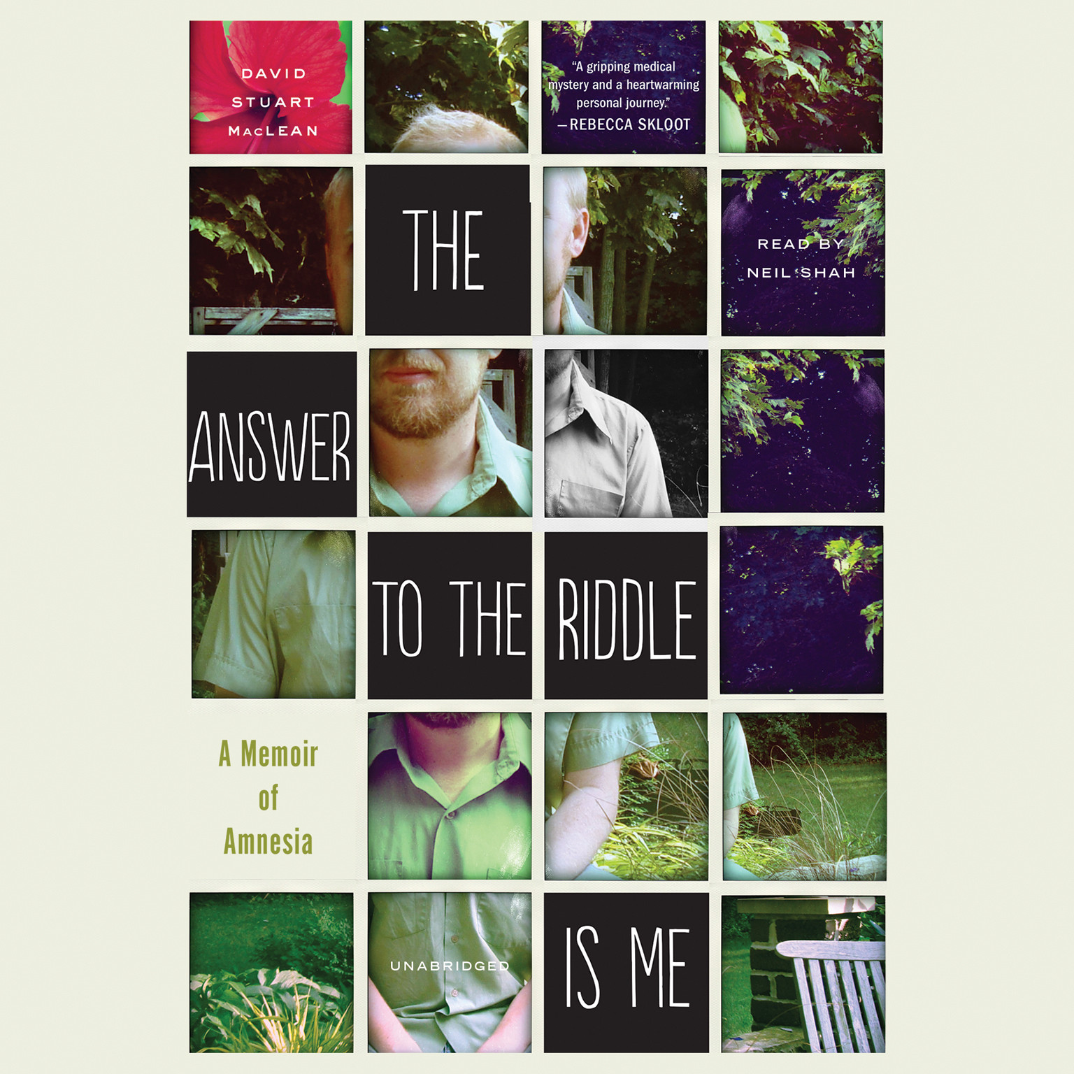 Printable The Answer to the Riddle Is Me: A Memoir of Amnesia Audiobook Cover Art